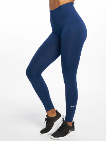 nike-frauen-tights-one-in-blau
