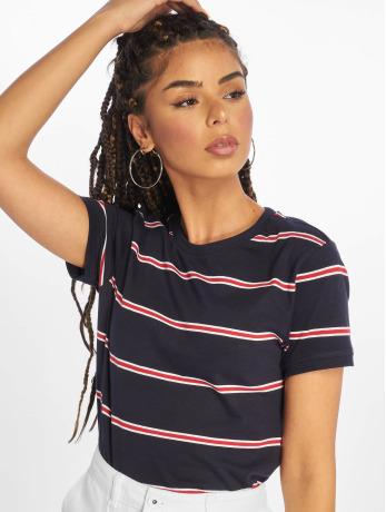 urban-classics-frauen-t-shirt-yarn-dyed-skate-stripe-in-blau