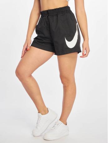 nike-frauen-shorts-woven-swoosh-in-schwarz