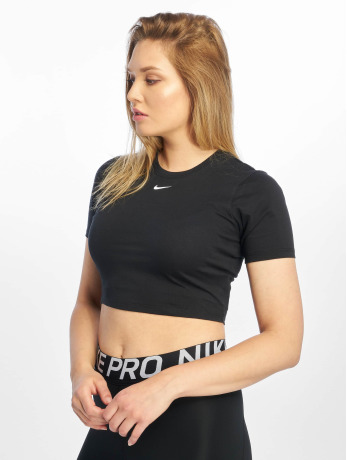 nike-frauen-top-essential-ss-crop-in-schwarz