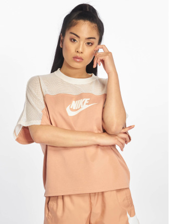 nike-frauen-top-ss-mesh-in-rosa