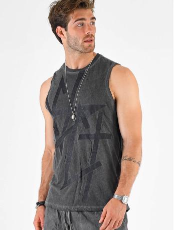 vsct-clubwear-manner-tank-tops-sharp-logo-sleeveless-in-grau