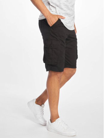 southpole-manner-shorts-belted-cargo-ripstop-in-schwarz