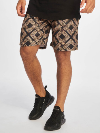 criminal-damage-manner-shorts-roman-in-schwarz
