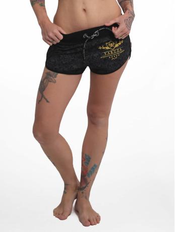 yakuza-frauen-shorts-crests-in-schwarz