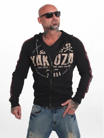 yakuza-manner-zip-hoodie-bad-side-in-schwarz