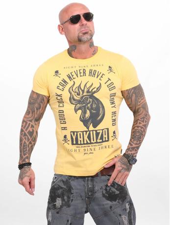 yakuza-manner-t-shirt-good-cock-in-gelb