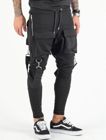 vsct-clubwear-manner-jogginghose-front-pkt-in-schwarz