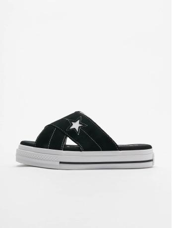 converse-frauen-sandalen-one-star-slip-in-schwarz