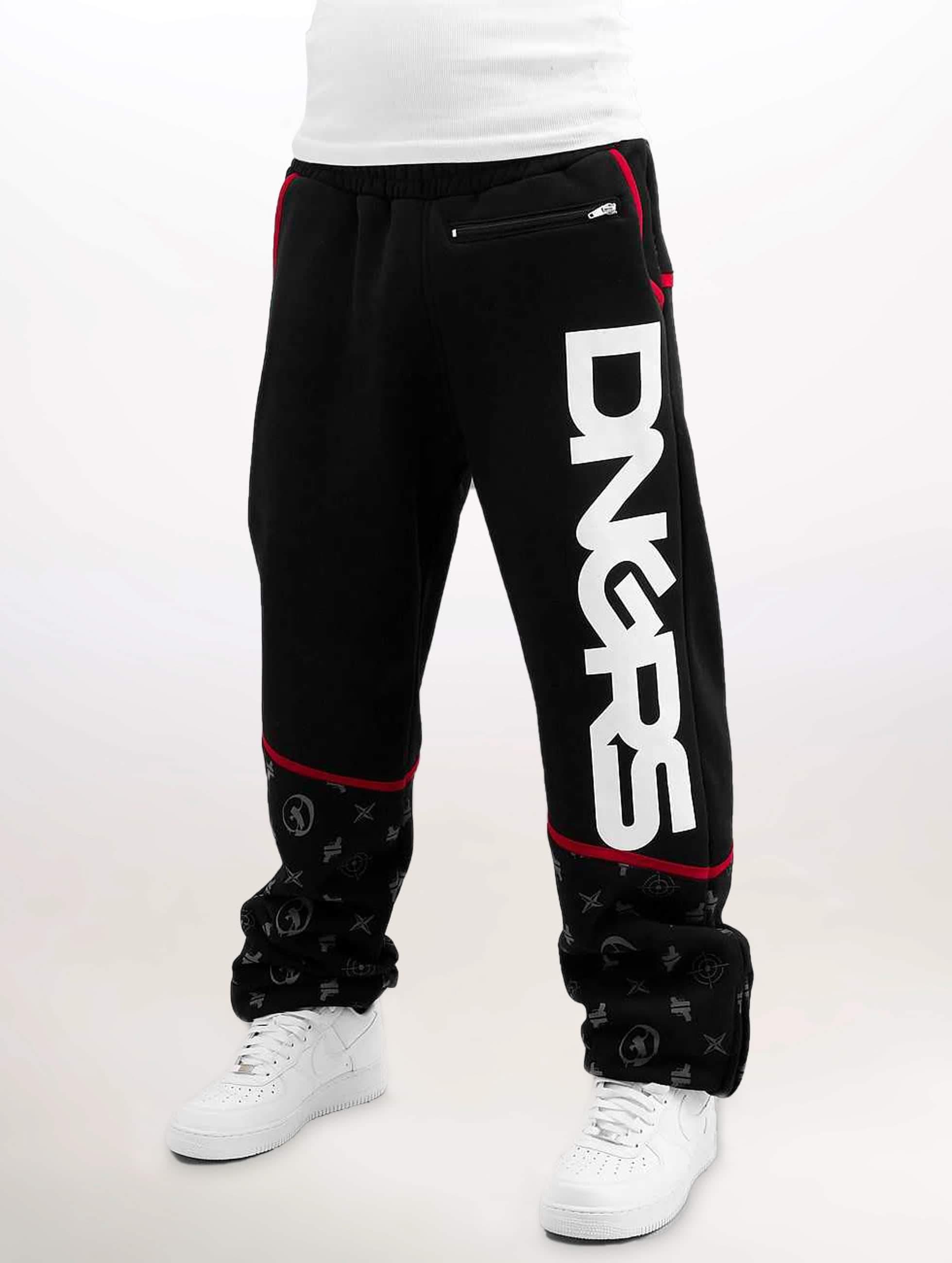 Dangerous DNGRS / Sweat Pant Crosshair Baggyfit Sweat Pants in black XXXL