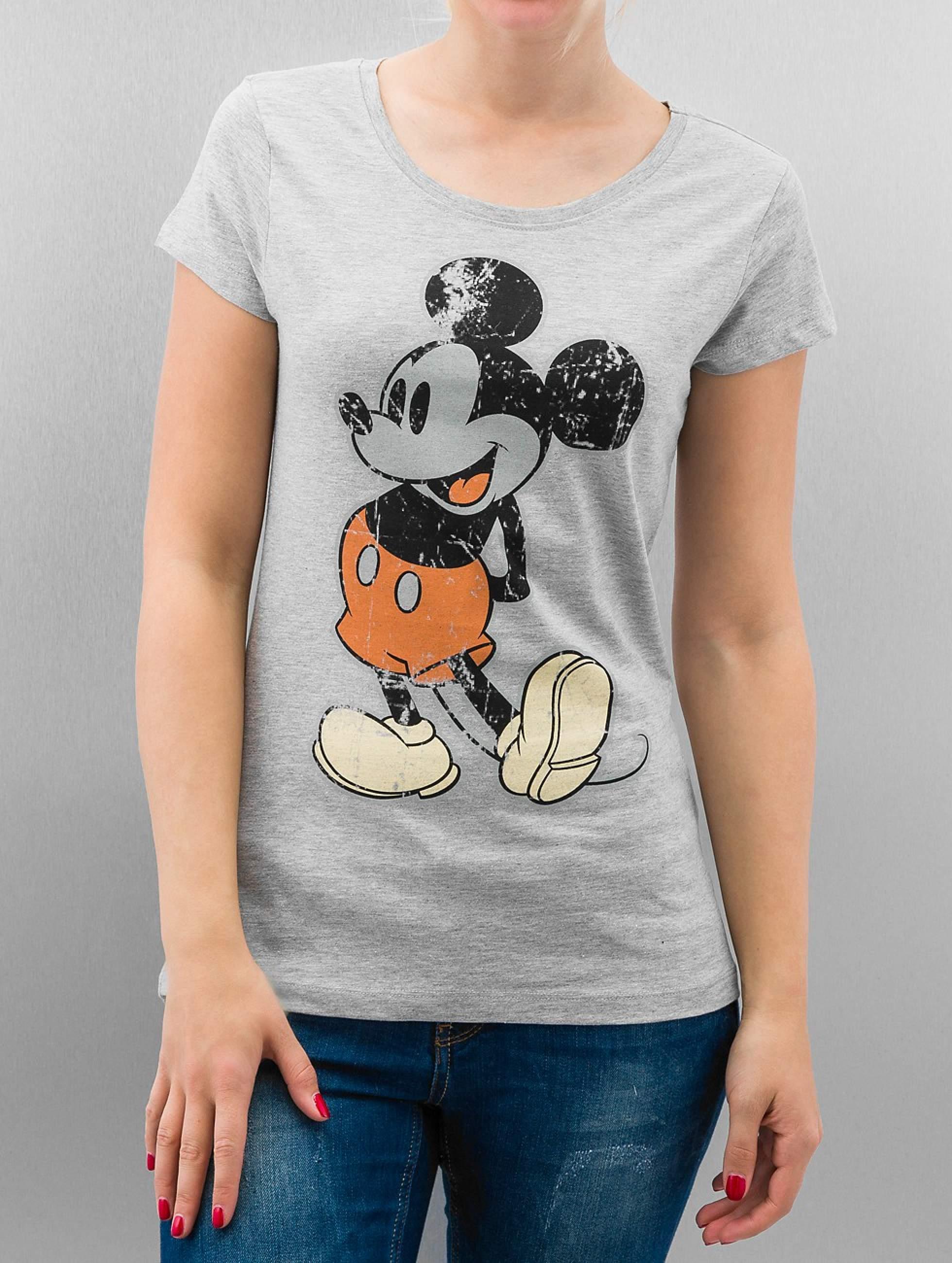 Rock Angel | Mickey  gris Femme T-Shirt