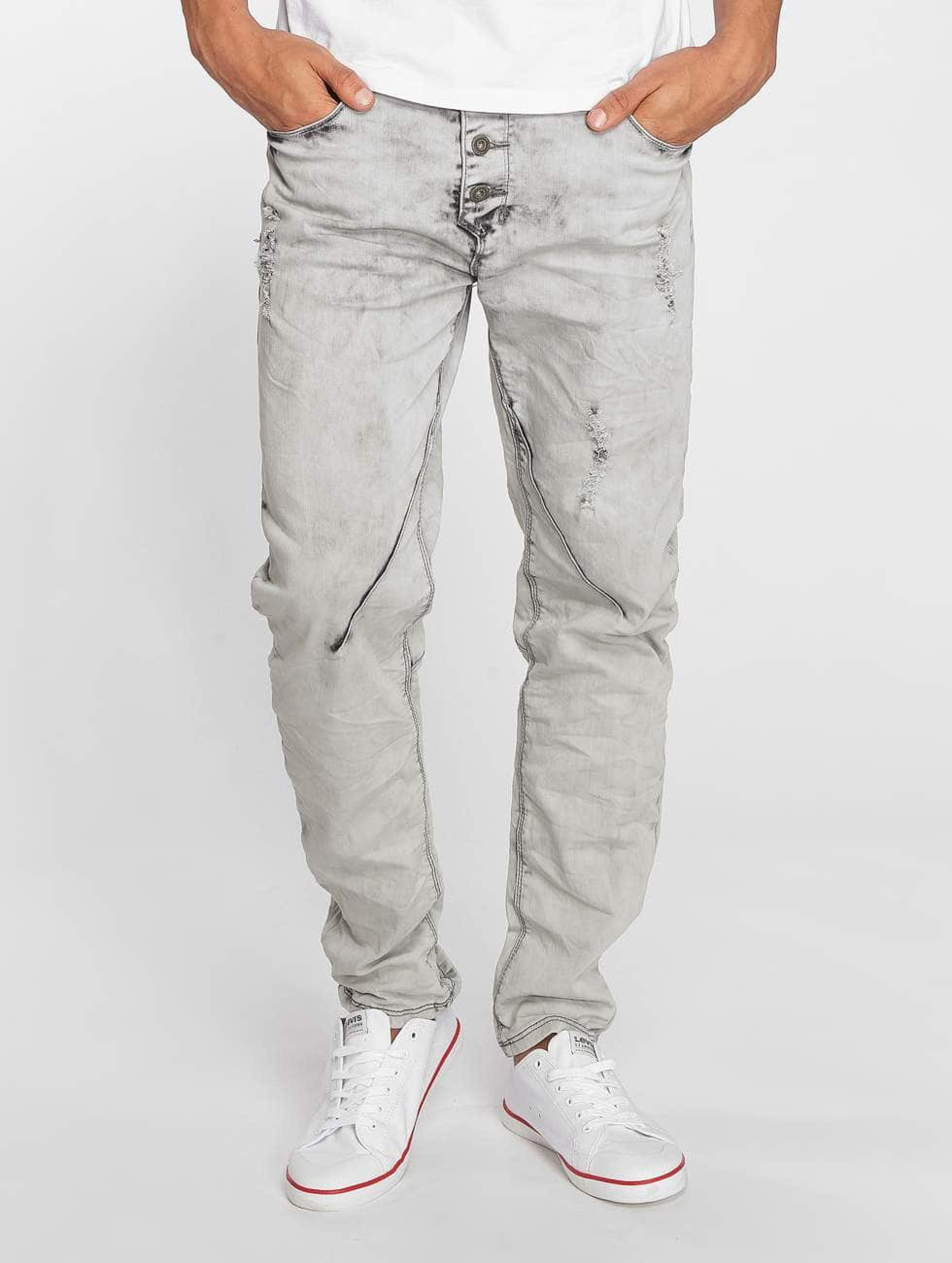 Sky Rebel | Elay  gris Homme Jean coupe droite