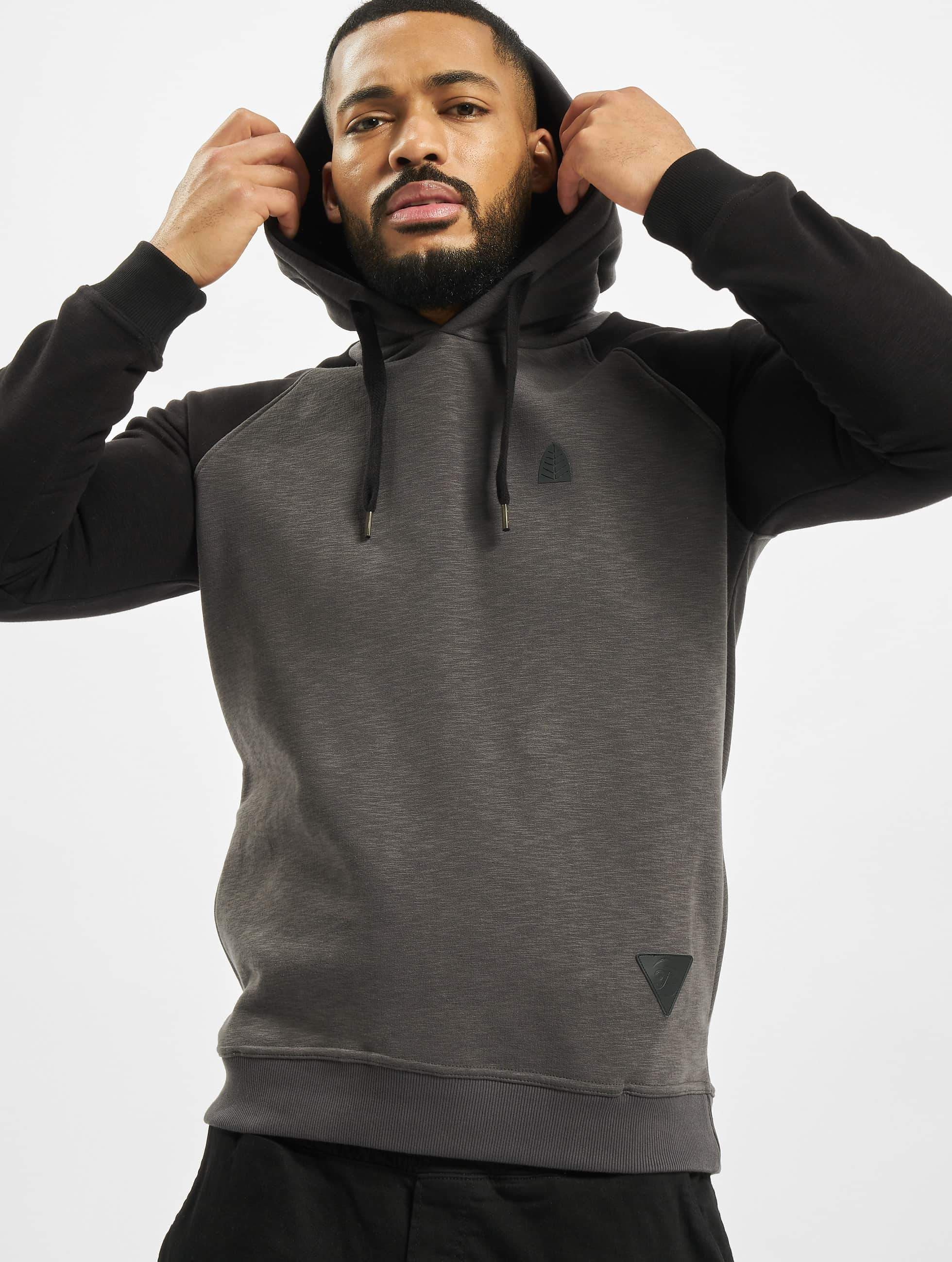 Just Rhyse / Hoodie Freeco Raglan II in grey 3XL