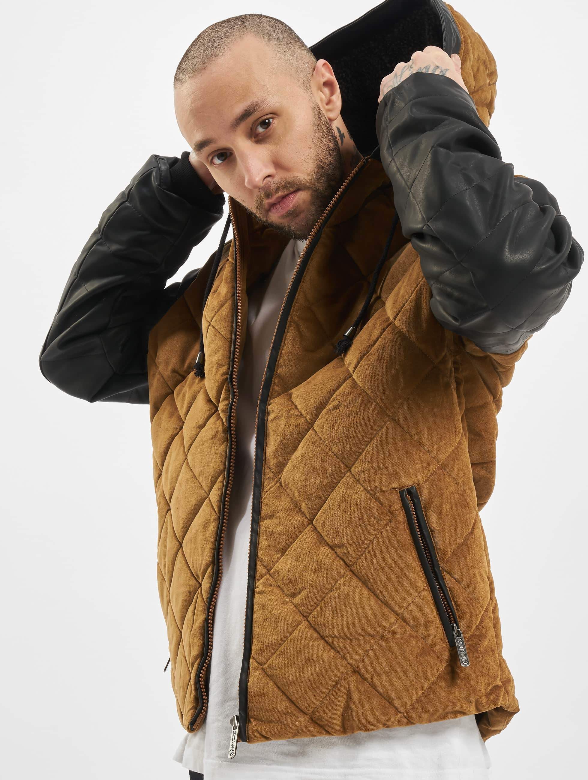 Just Rhyse / Winter Jacket Quilted in beige XL