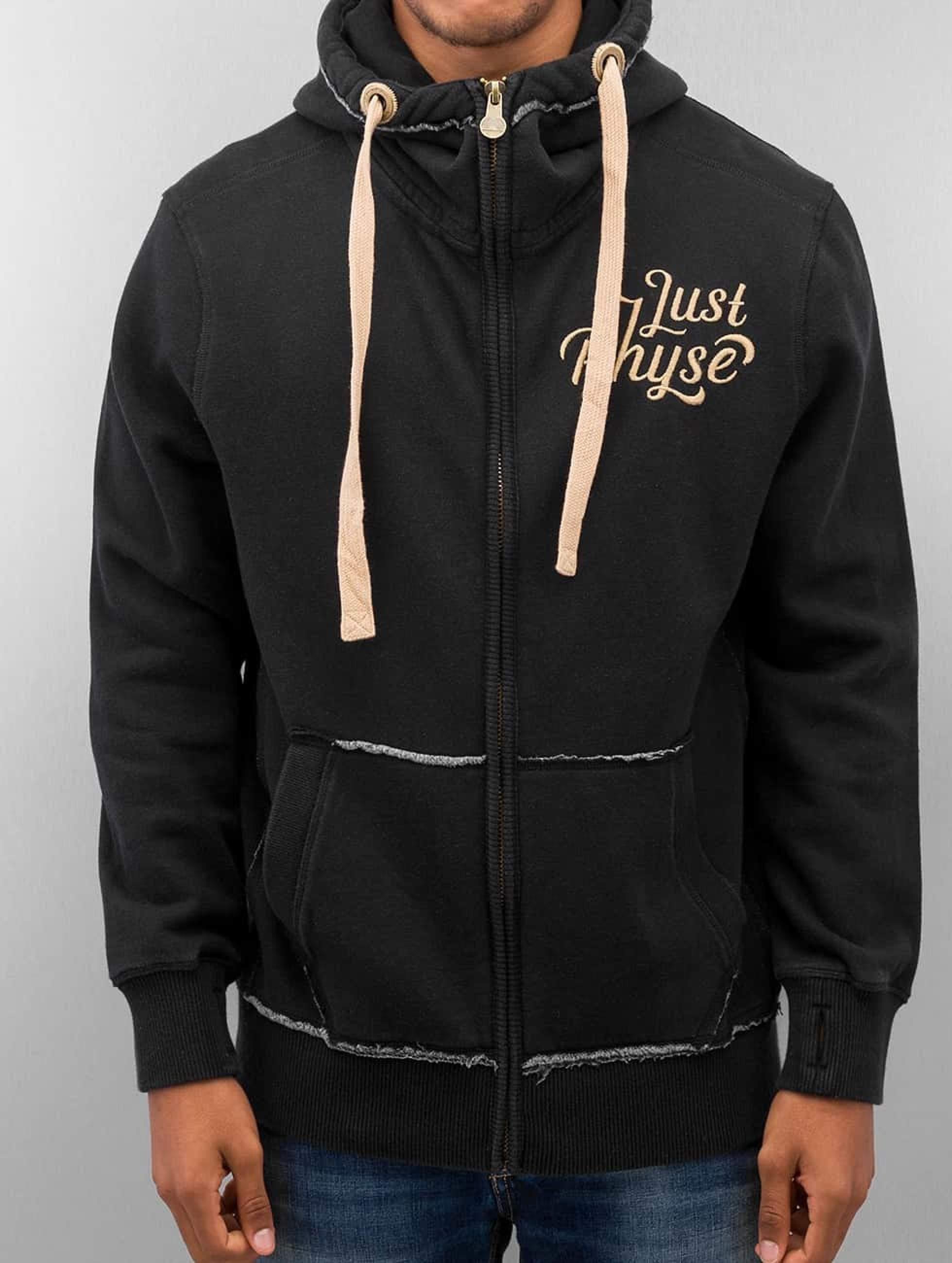 Just Rhyse / Zip Hoodie Big in black S