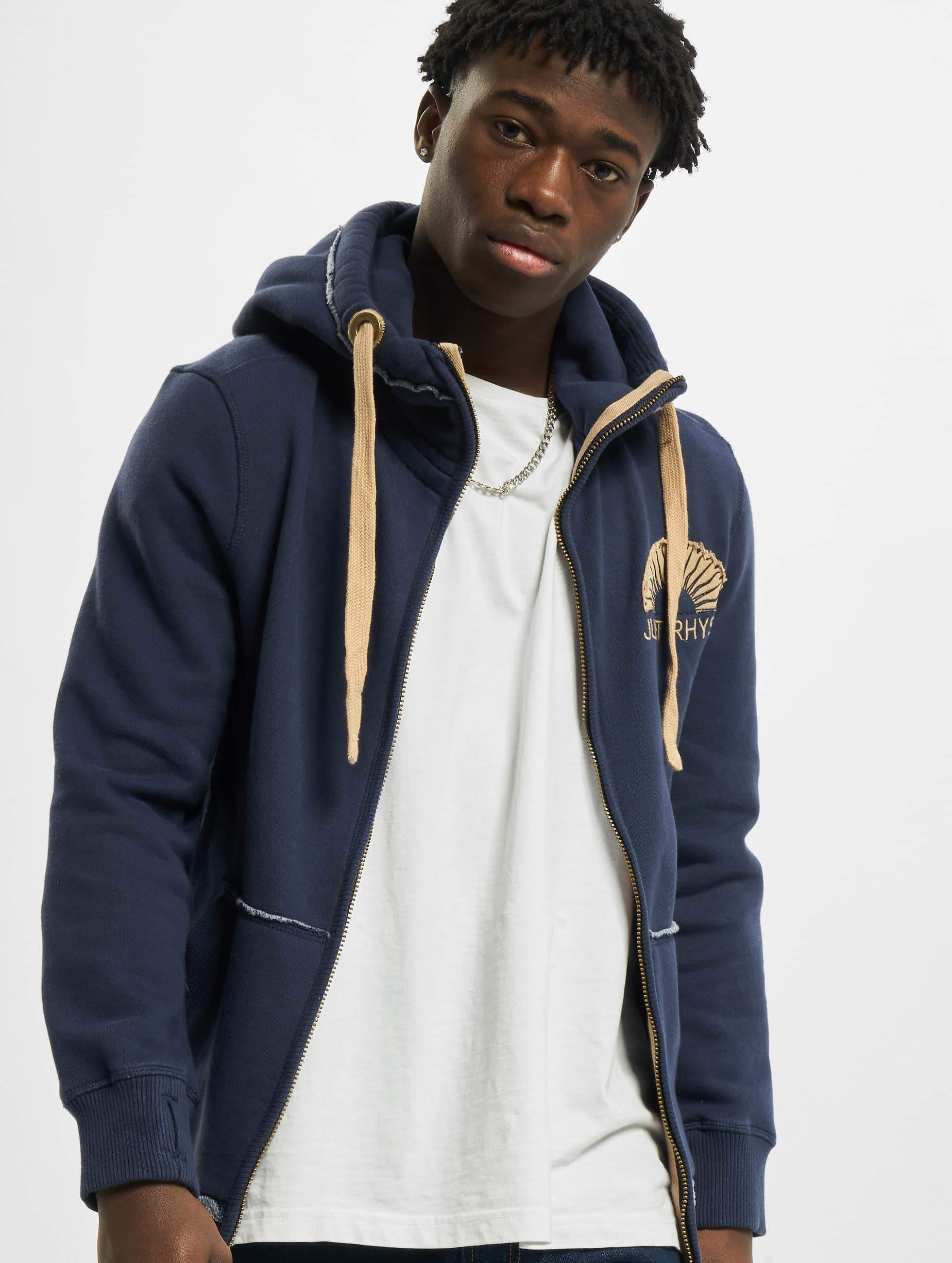 Just Rhyse / Zip Hoodie Sun in blue S
