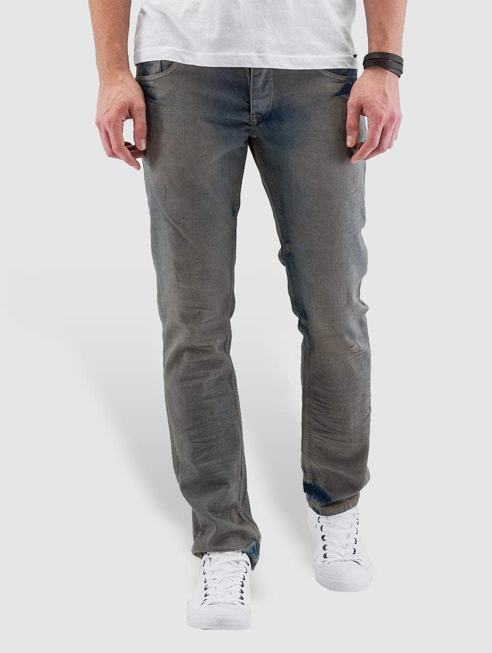 Cazzy Clang / Straight Fit Jeans Washed in blue W 36