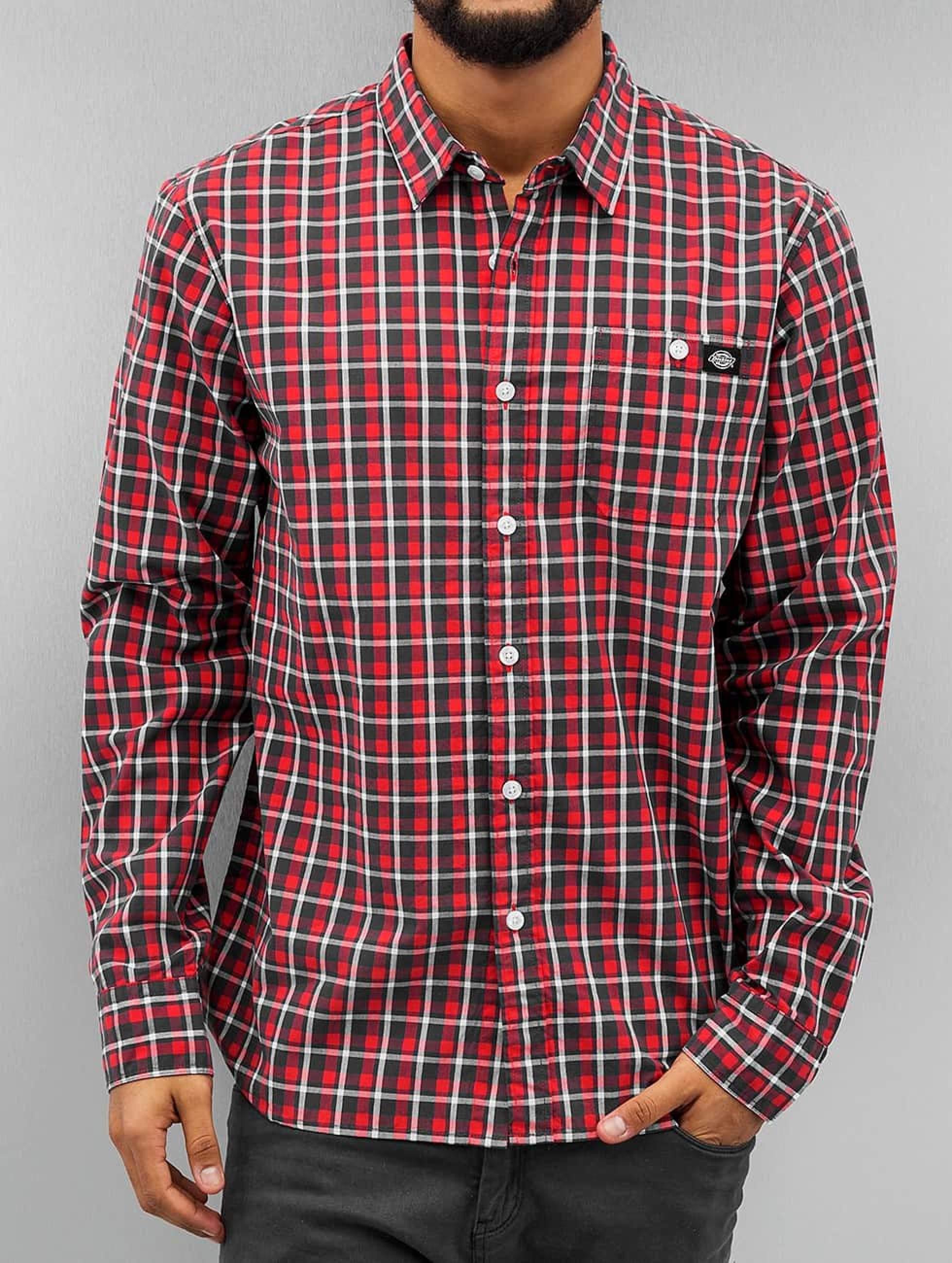 Dickies Männer Hemd Laytonville in rot
