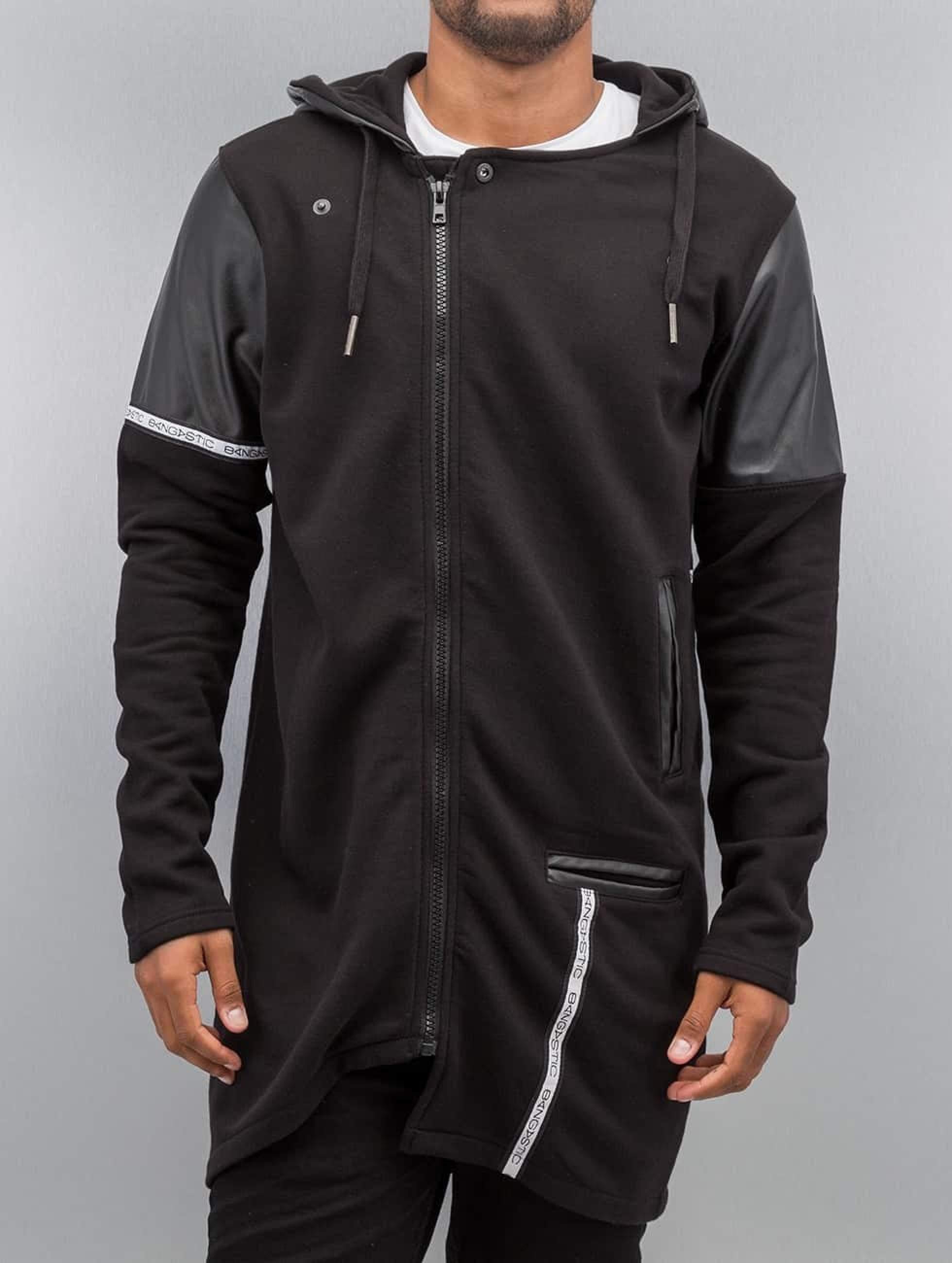 Bangastic / Zip Hoodie PU in black S