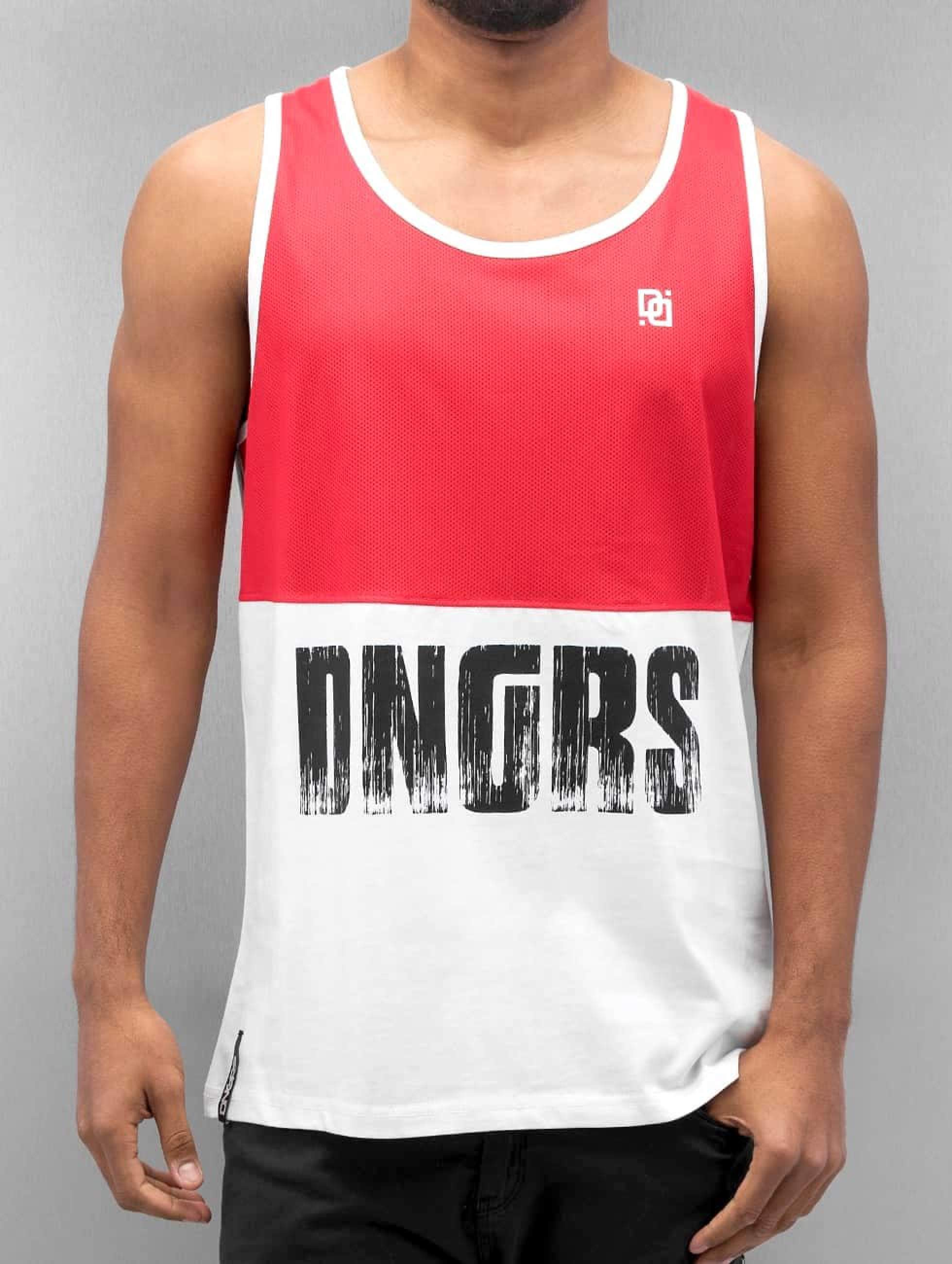 Dangerous DNGRS / Tank Tops Zeki in white 2XL