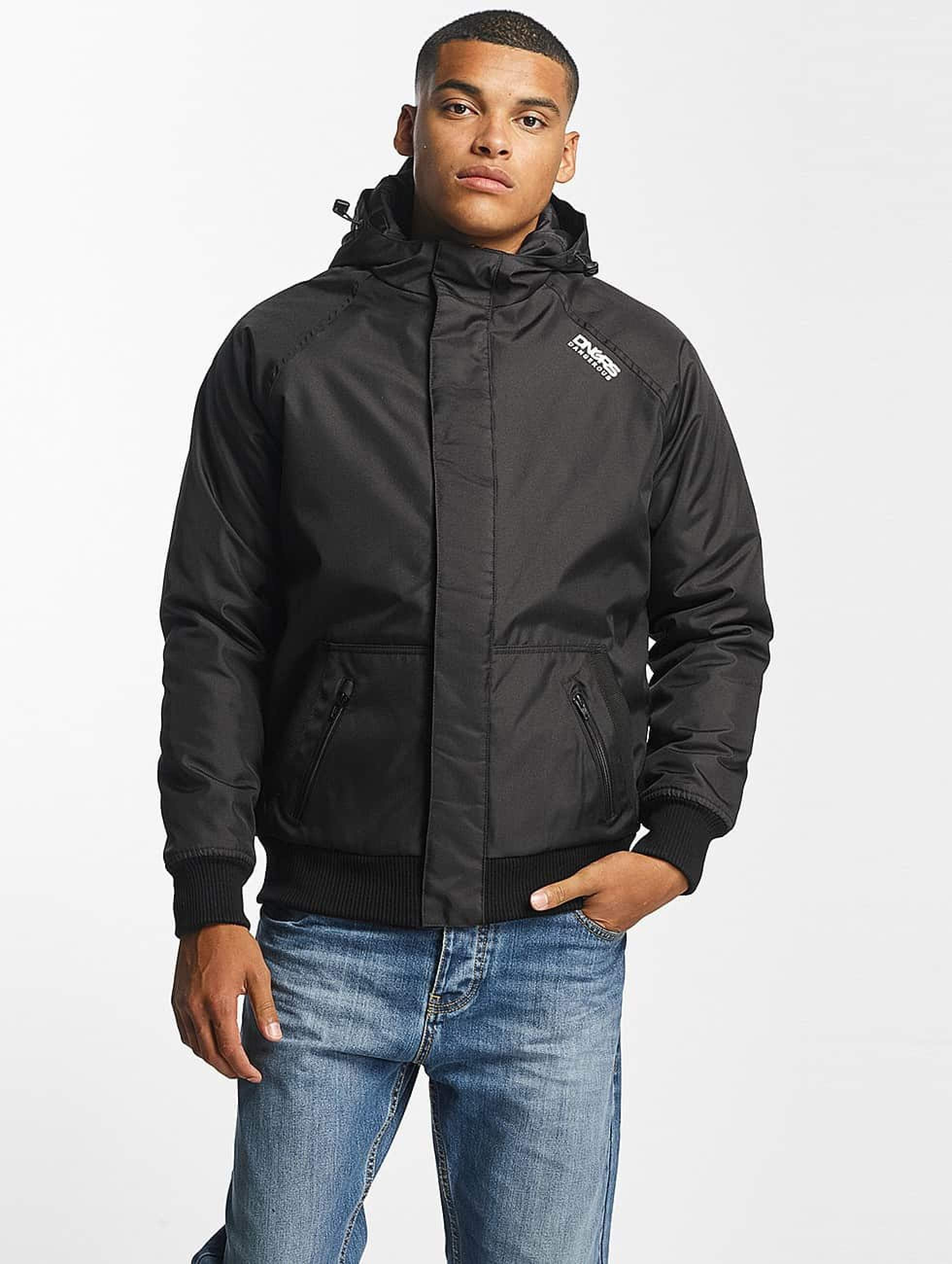 Dangerous DNGRS / Winter Jacket Orlando in black XL