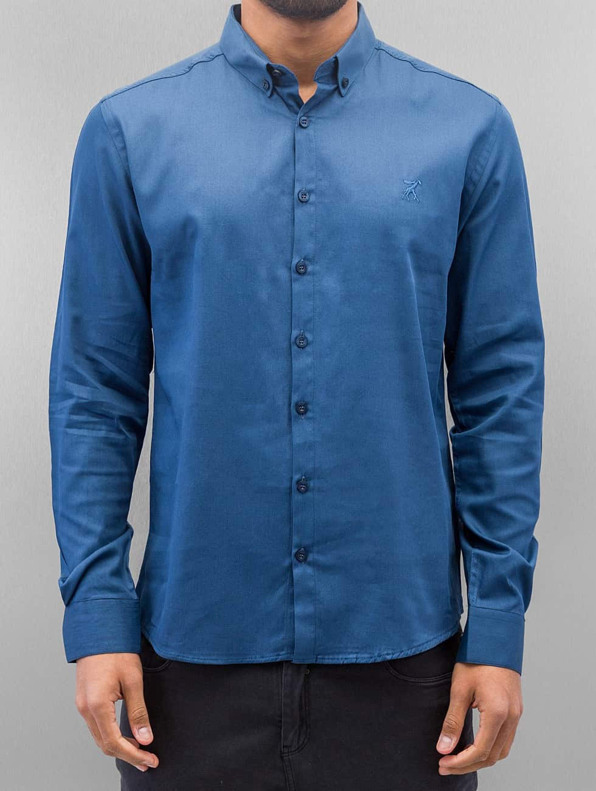 Cazzy Clang / Shirt Norick in blue XL