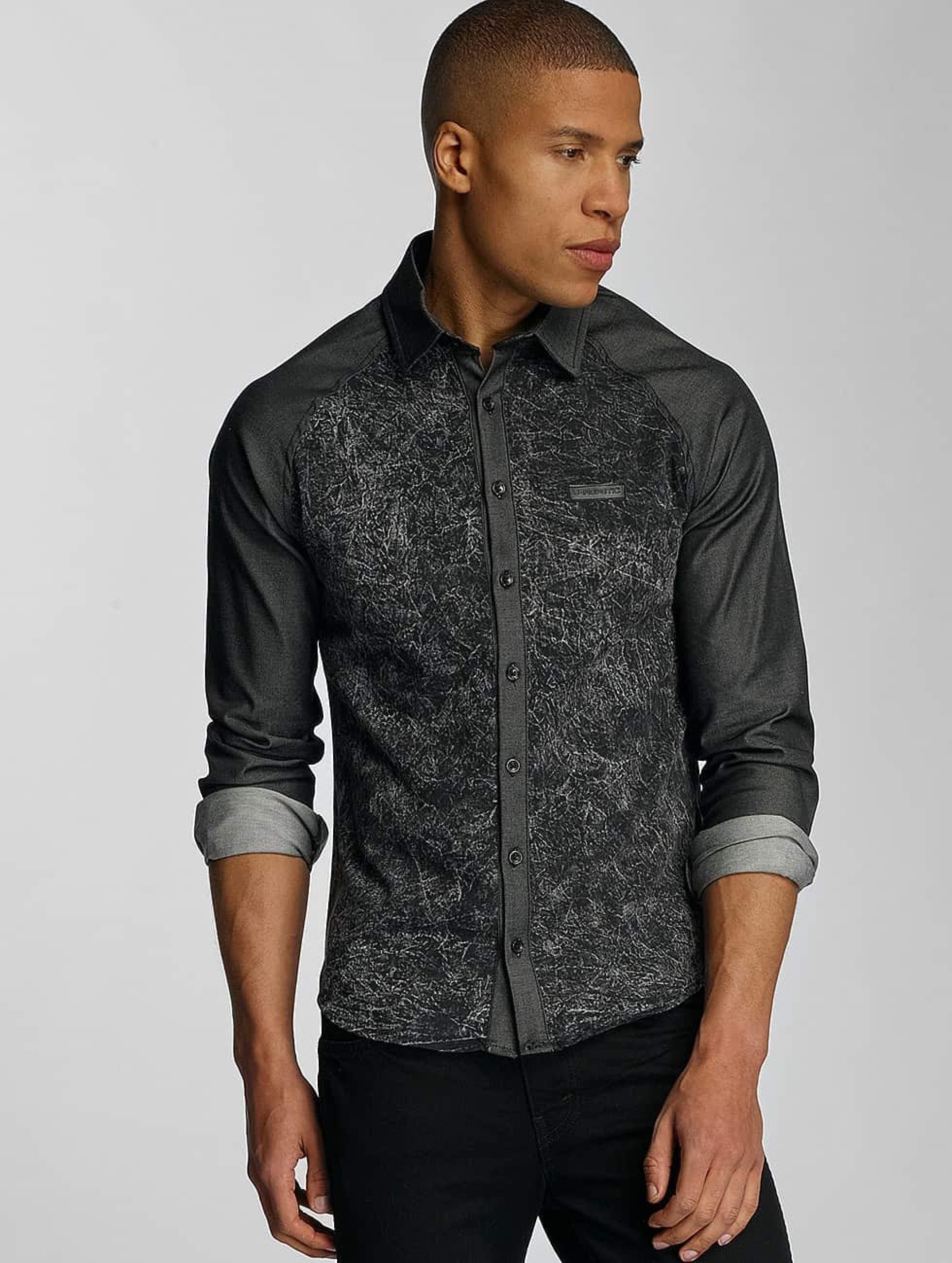 Bangastic Männer Hemd Rouen in grau