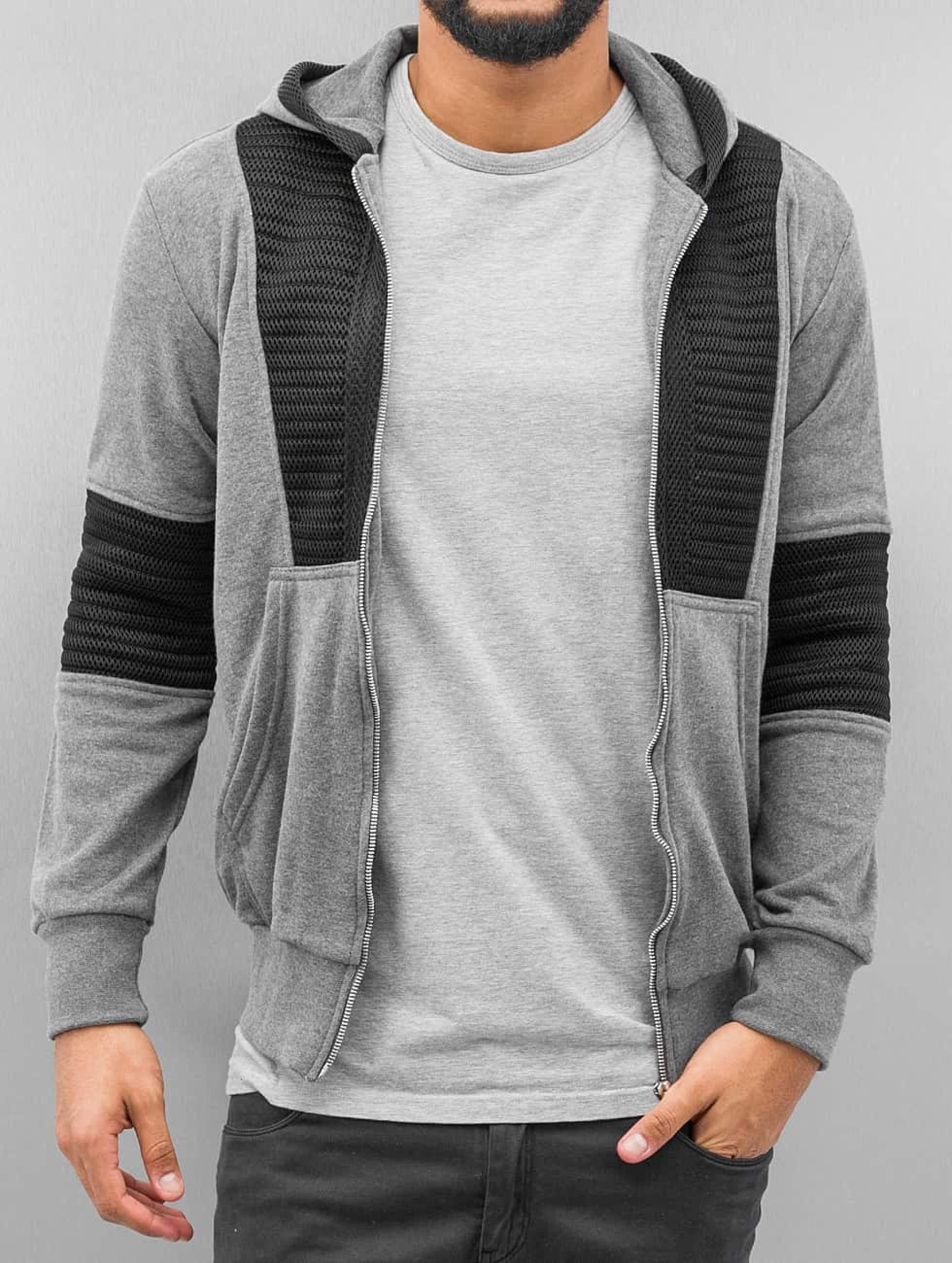Bangastic / Zip Hoodie Hanau in grey XL