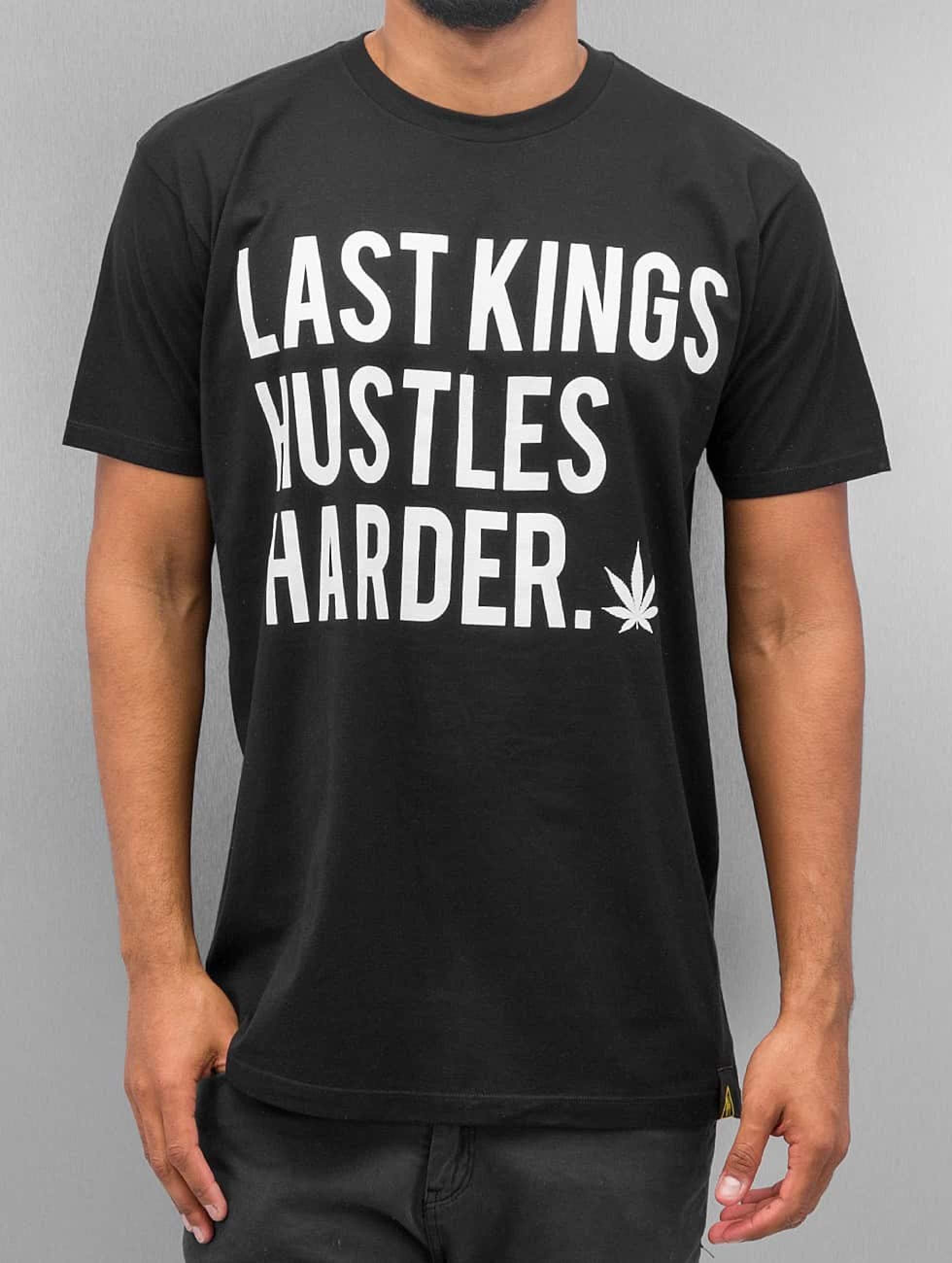 Last Kings | Hustle Hard noir Homme T-Shirt