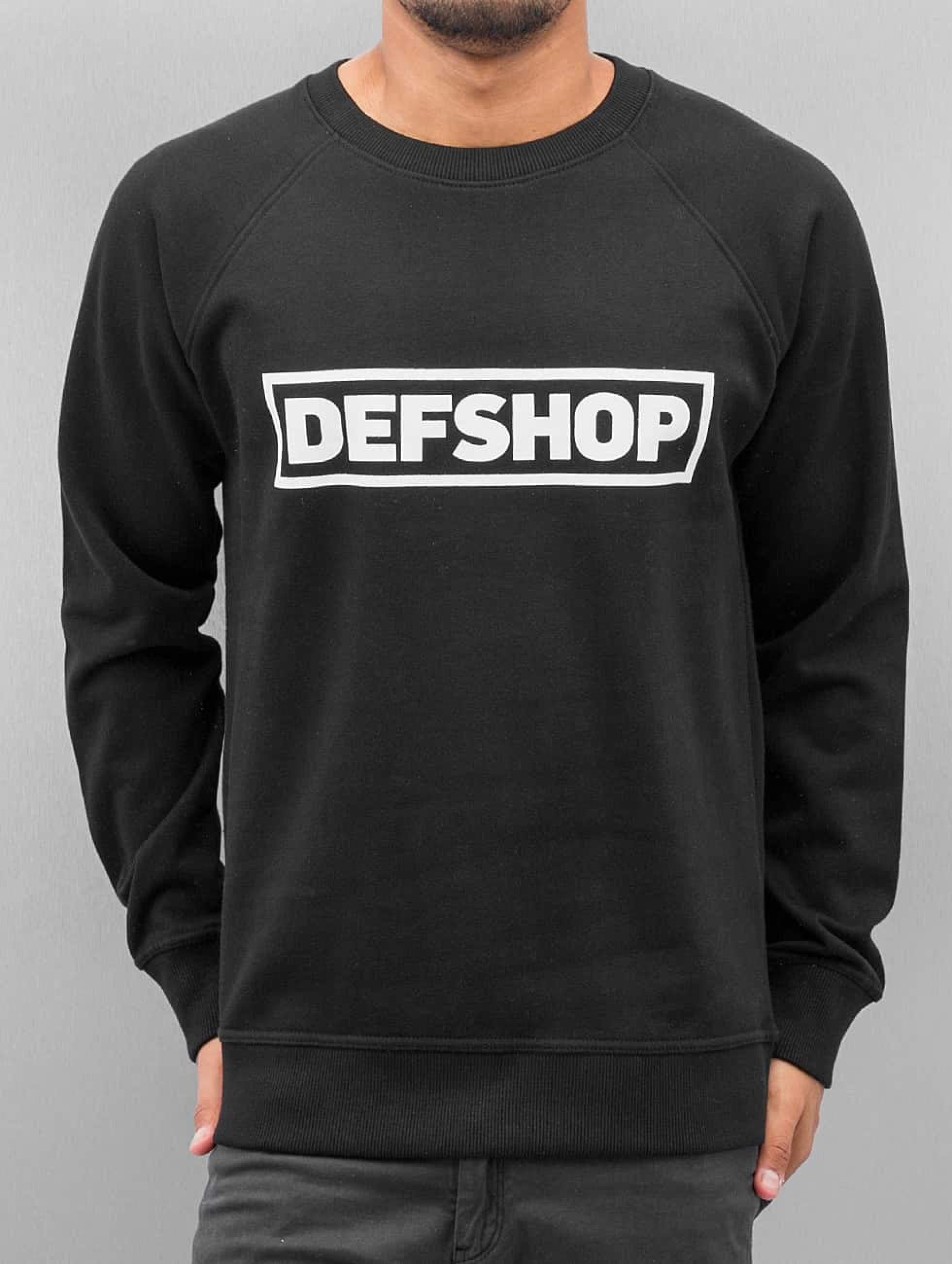 DefShop | Logo  noir Homme Sweat & Pull