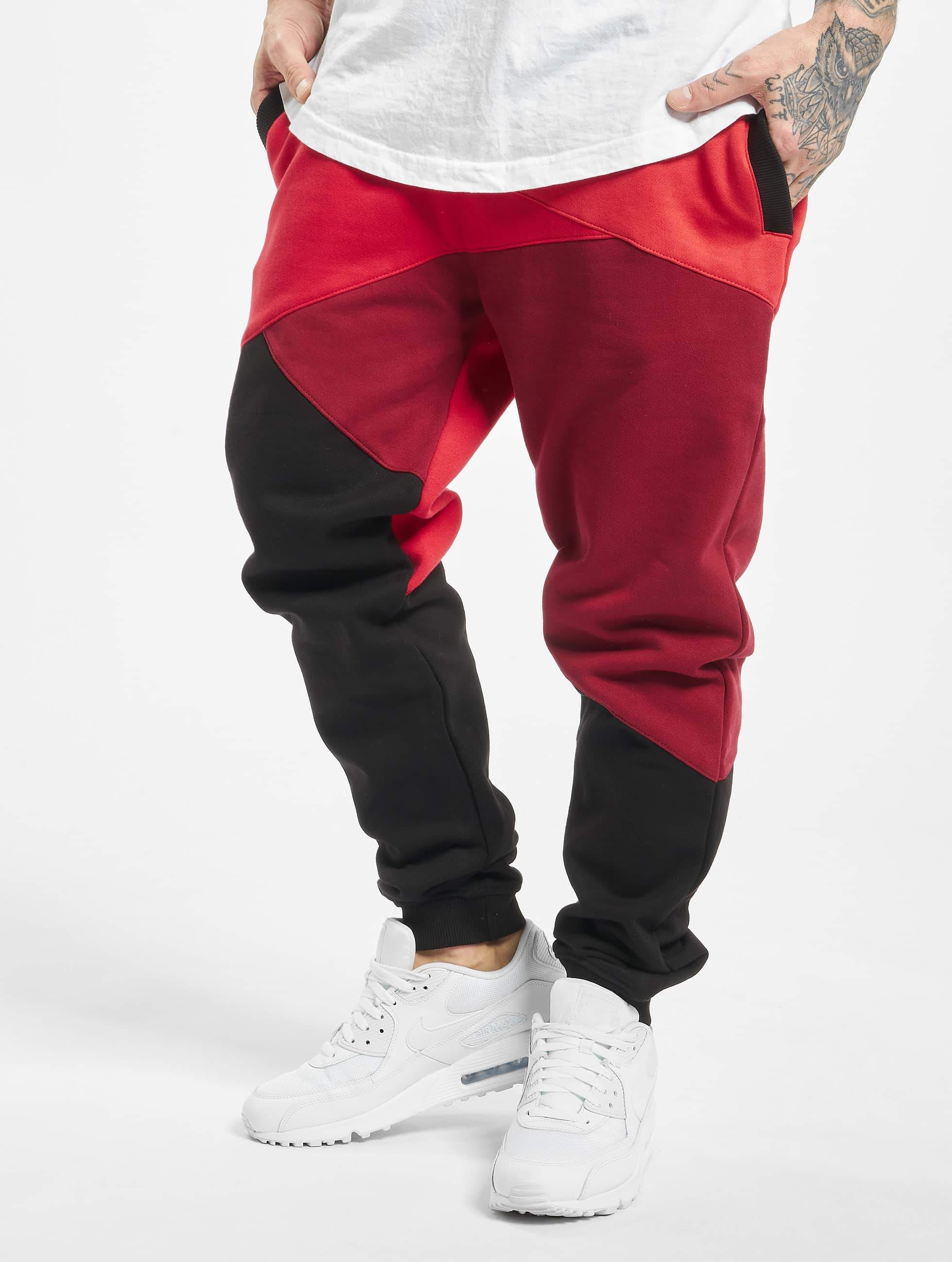 Dangerous DNGRS / Sweat Pant Locotay Race City in red 4XL