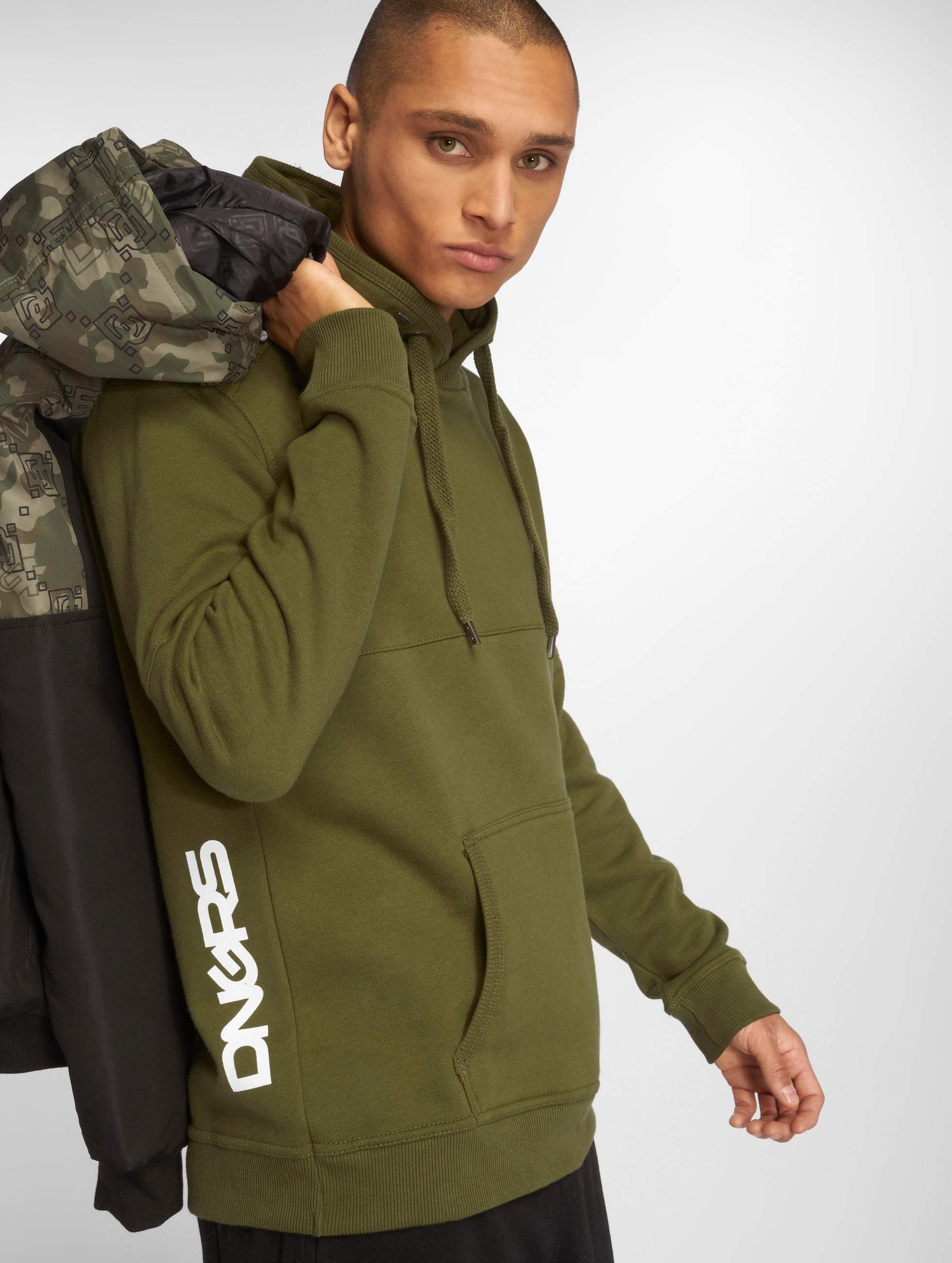 Dangerous DNGRS / Hoodie Perth in olive XL
