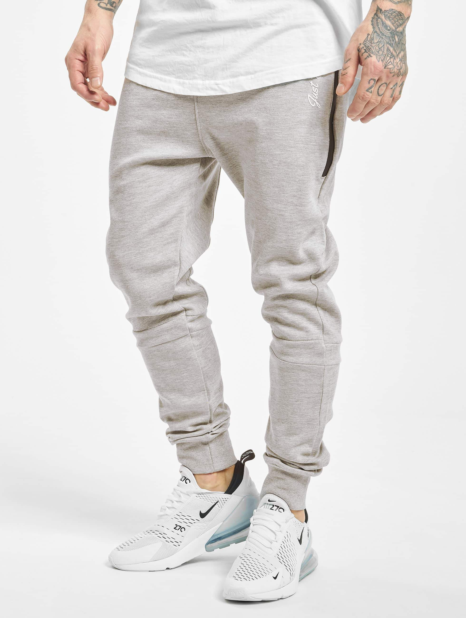 Just Rhyse / Sweat Pant Big Pocket in grey XL