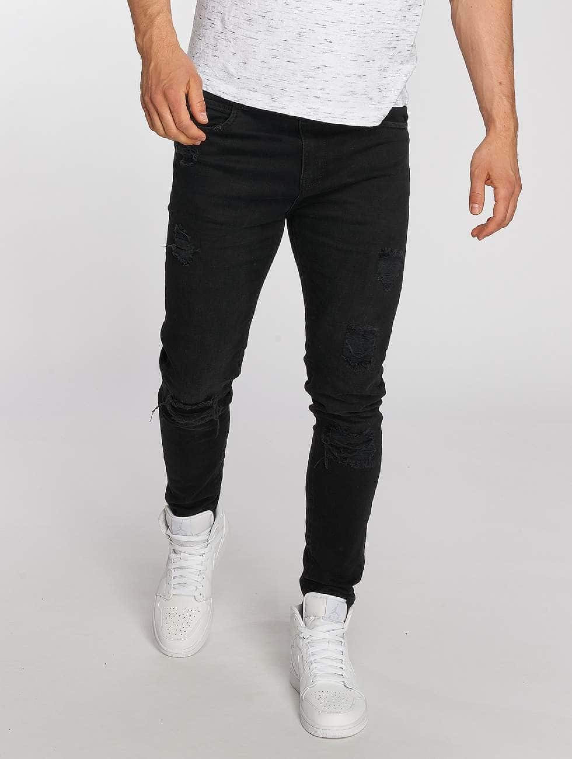 Bangastic / Slim Fit Jeans Burundi in black W 38
