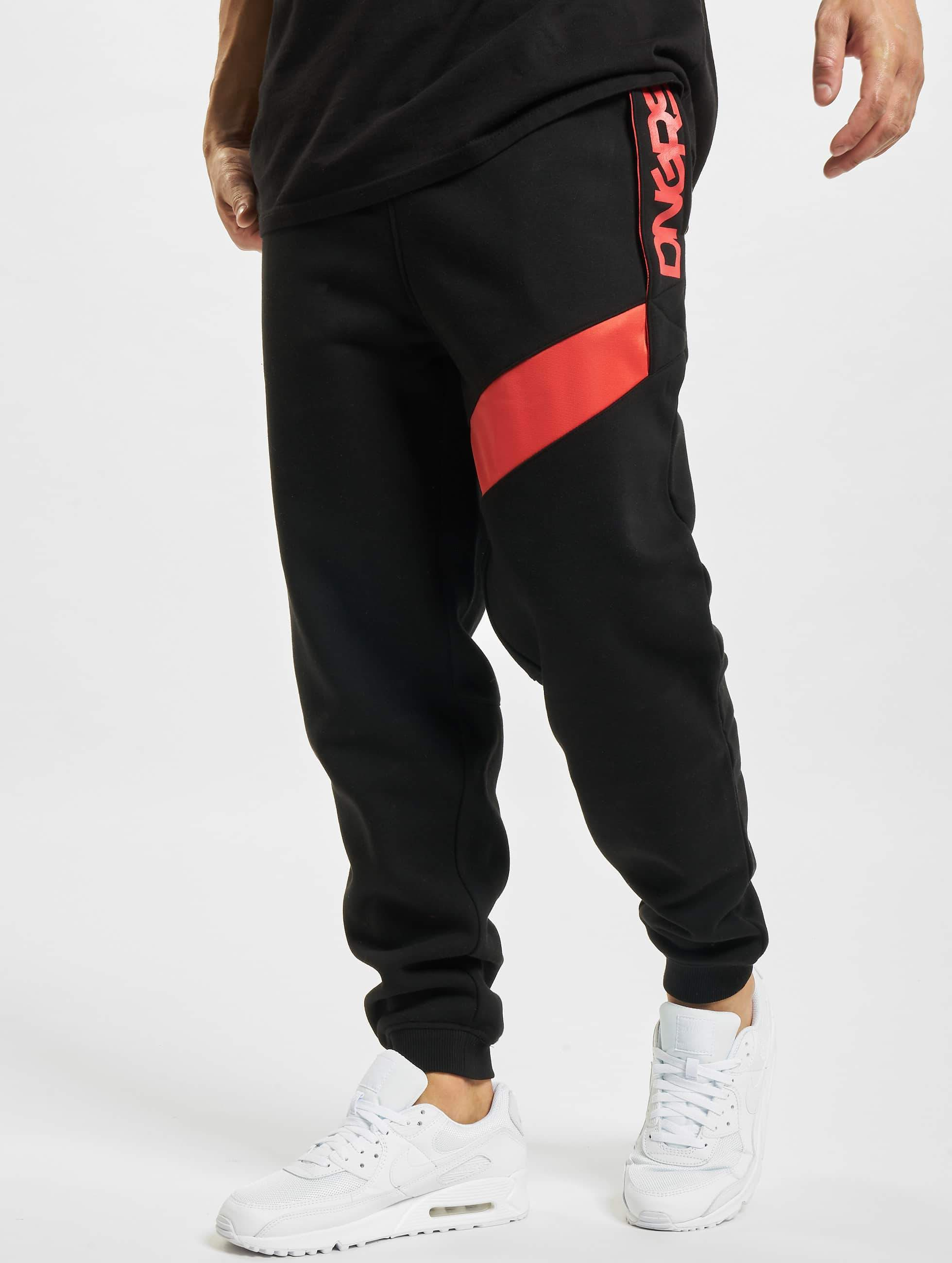 Dangerous DNGRS / Sweat Pant New Pockets in black XL