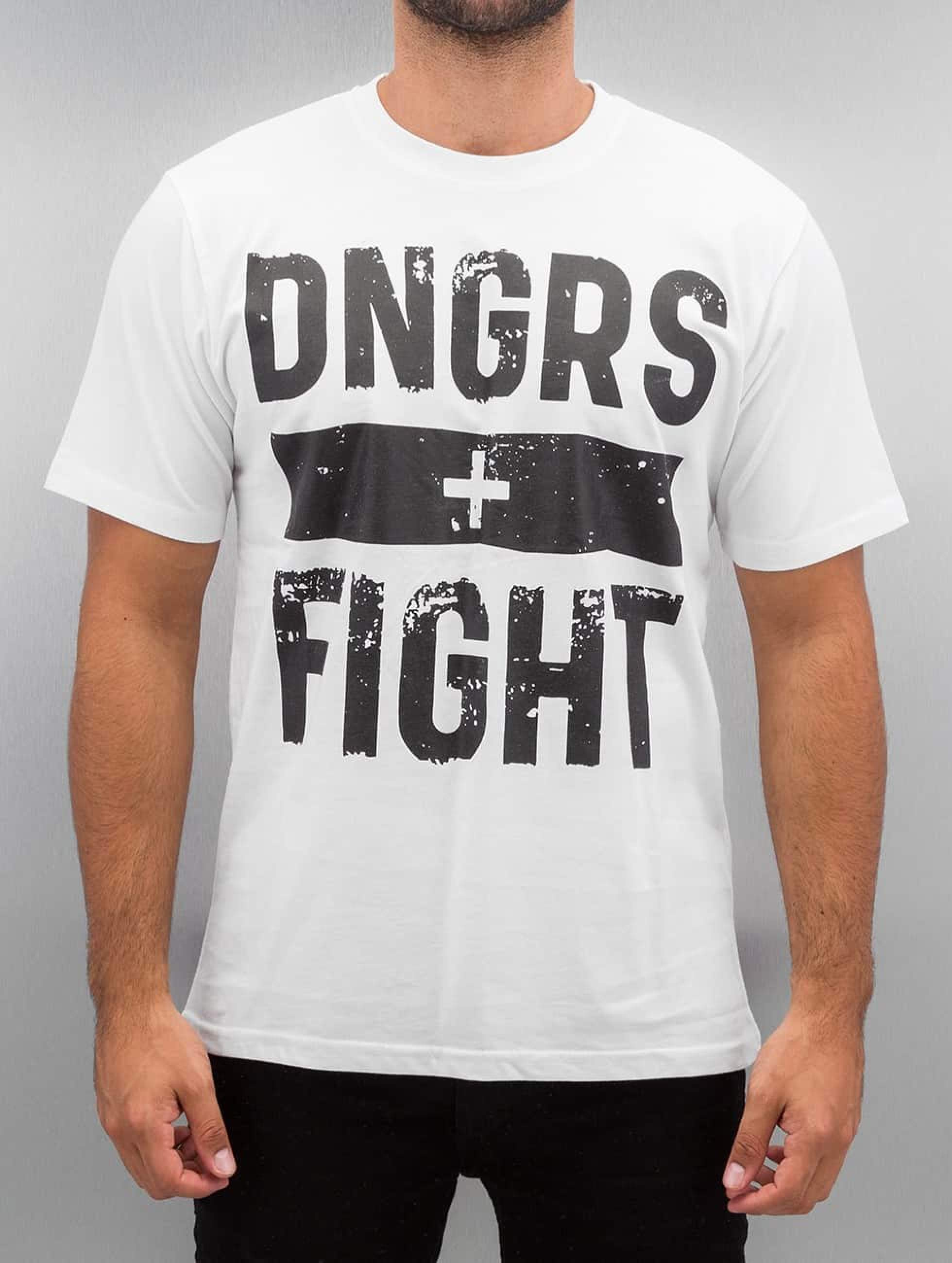 Dangerous DNGRS / T-Shirt Fight in white S