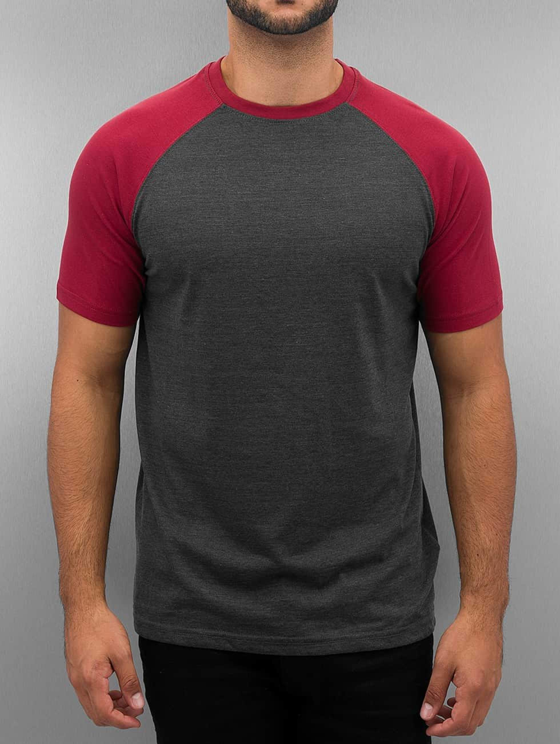Cyprime / T-Shirt Raglan in red 2XL