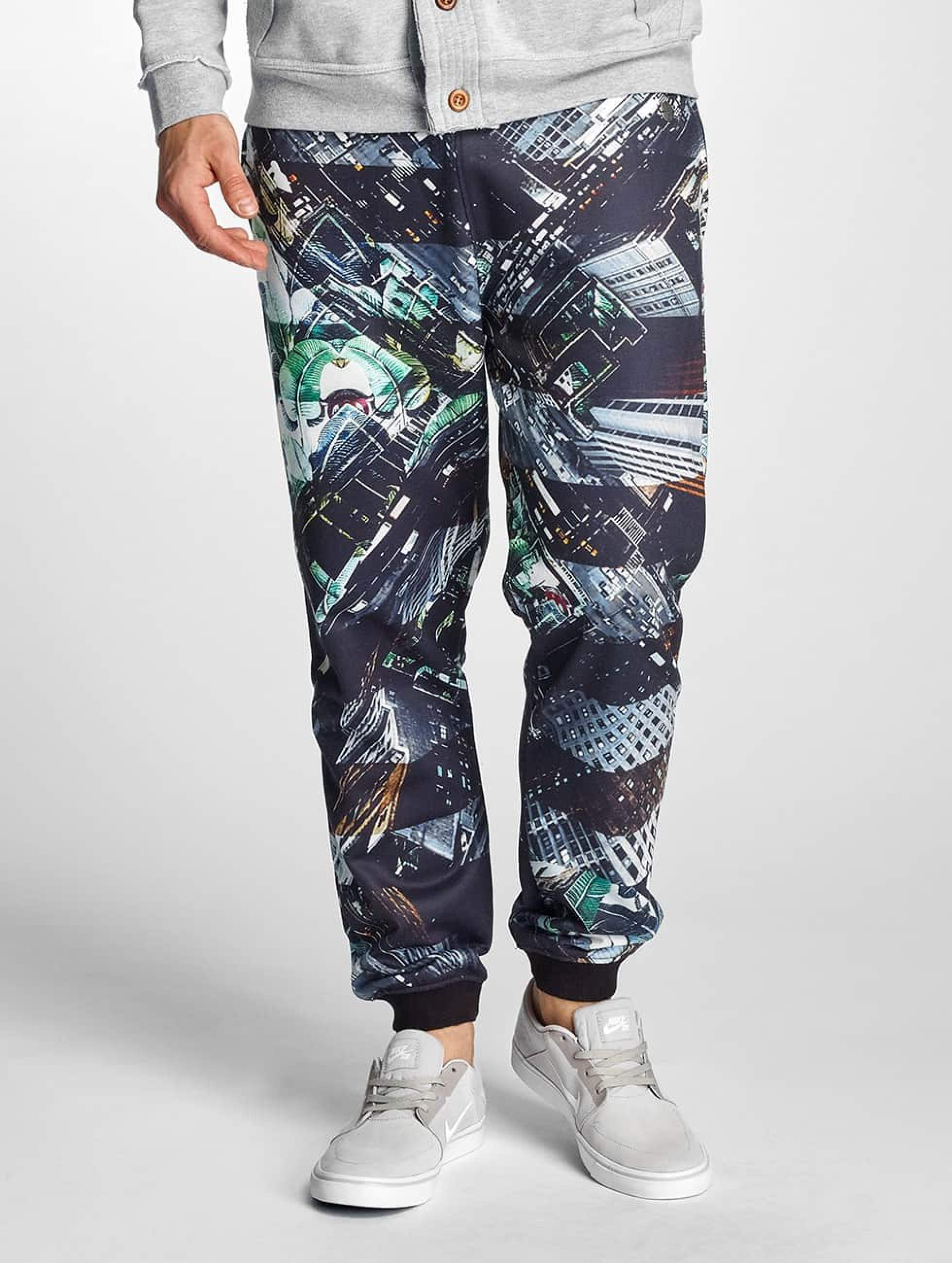 Just Rhyse / Sweat Pant Santa Cruz in black XL