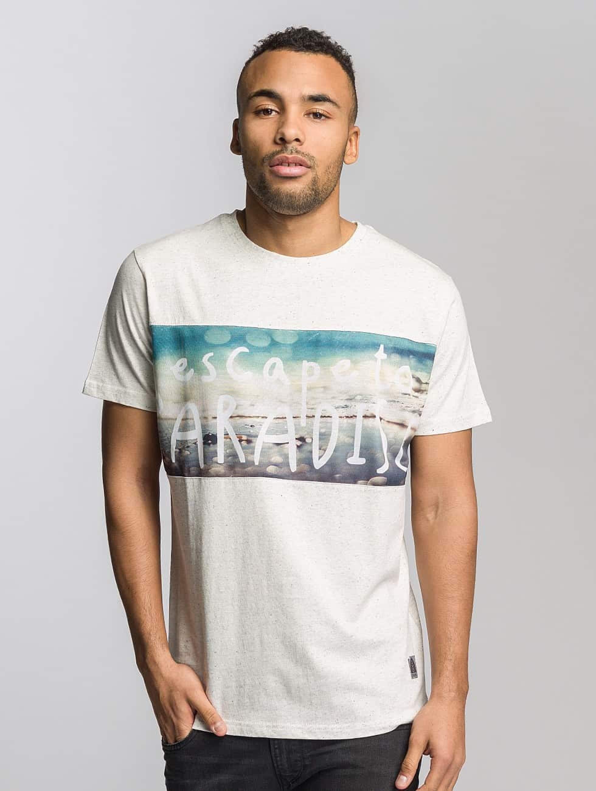 Just Rhyse / T-Shirt Long Beach in white S