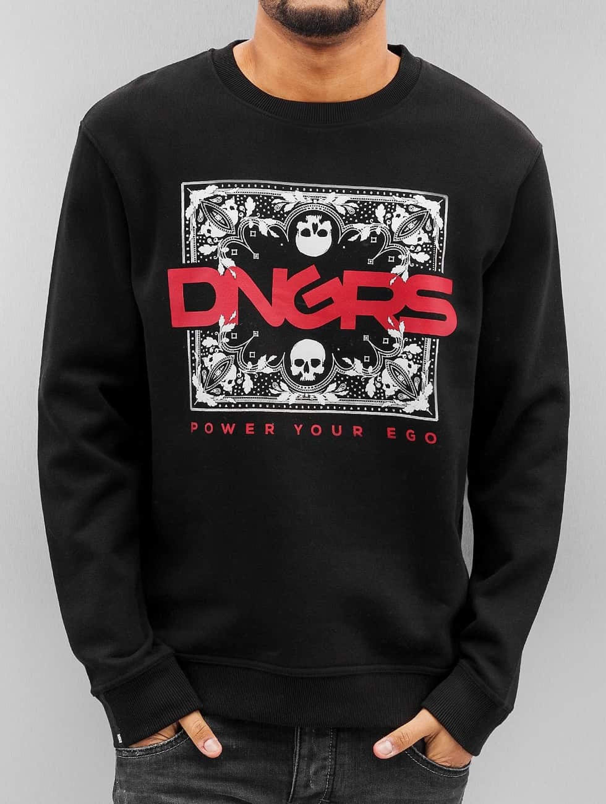 Dangerous DNGRS / Jumper Egopulli in black M