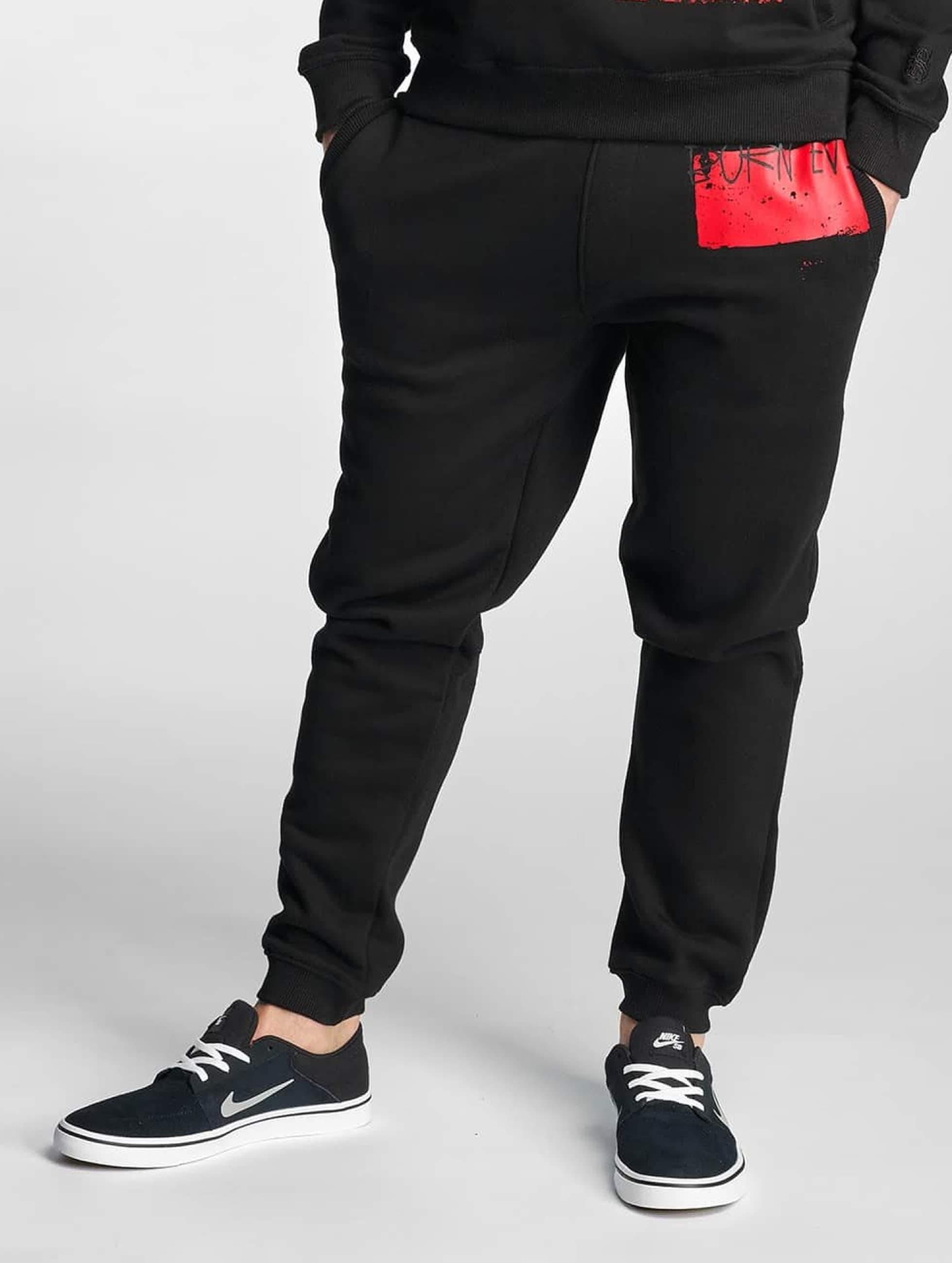 Dangerous DNGRS / Sweat Pant Rising in black L