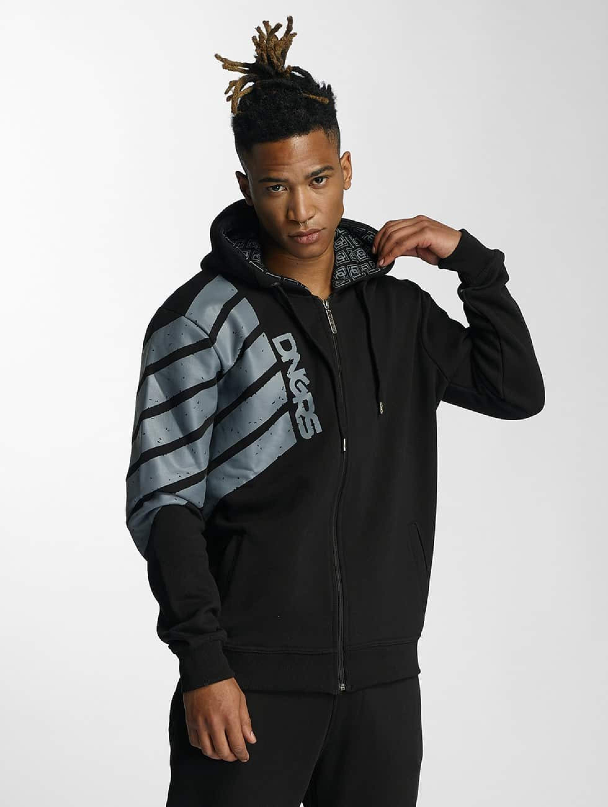 Dangerous DNGRS / Zip Hoodie Statement in black XL