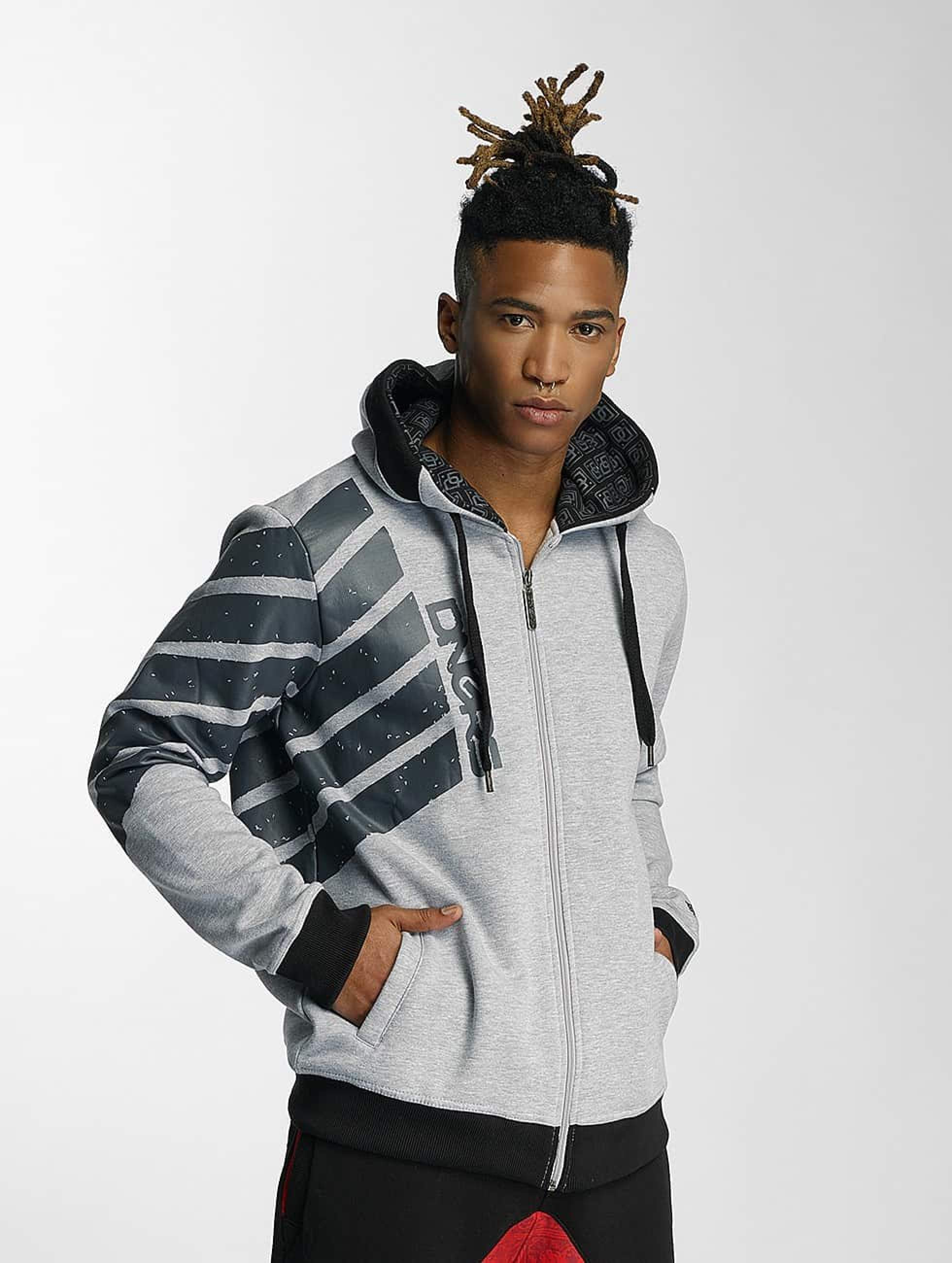 Dangerous DNGRS / Zip Hoodie Statement in grey XL