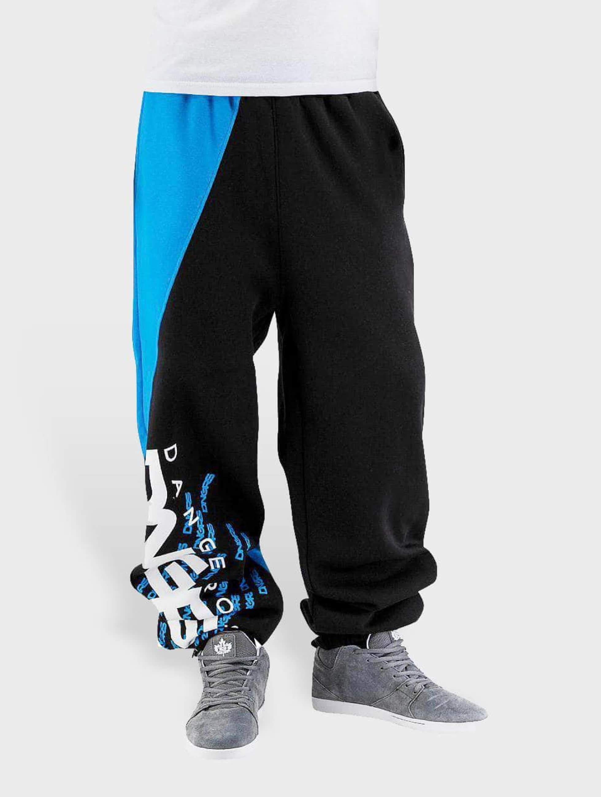 Dangerous DNGRS / Sweat Pant Noah in black 6XL