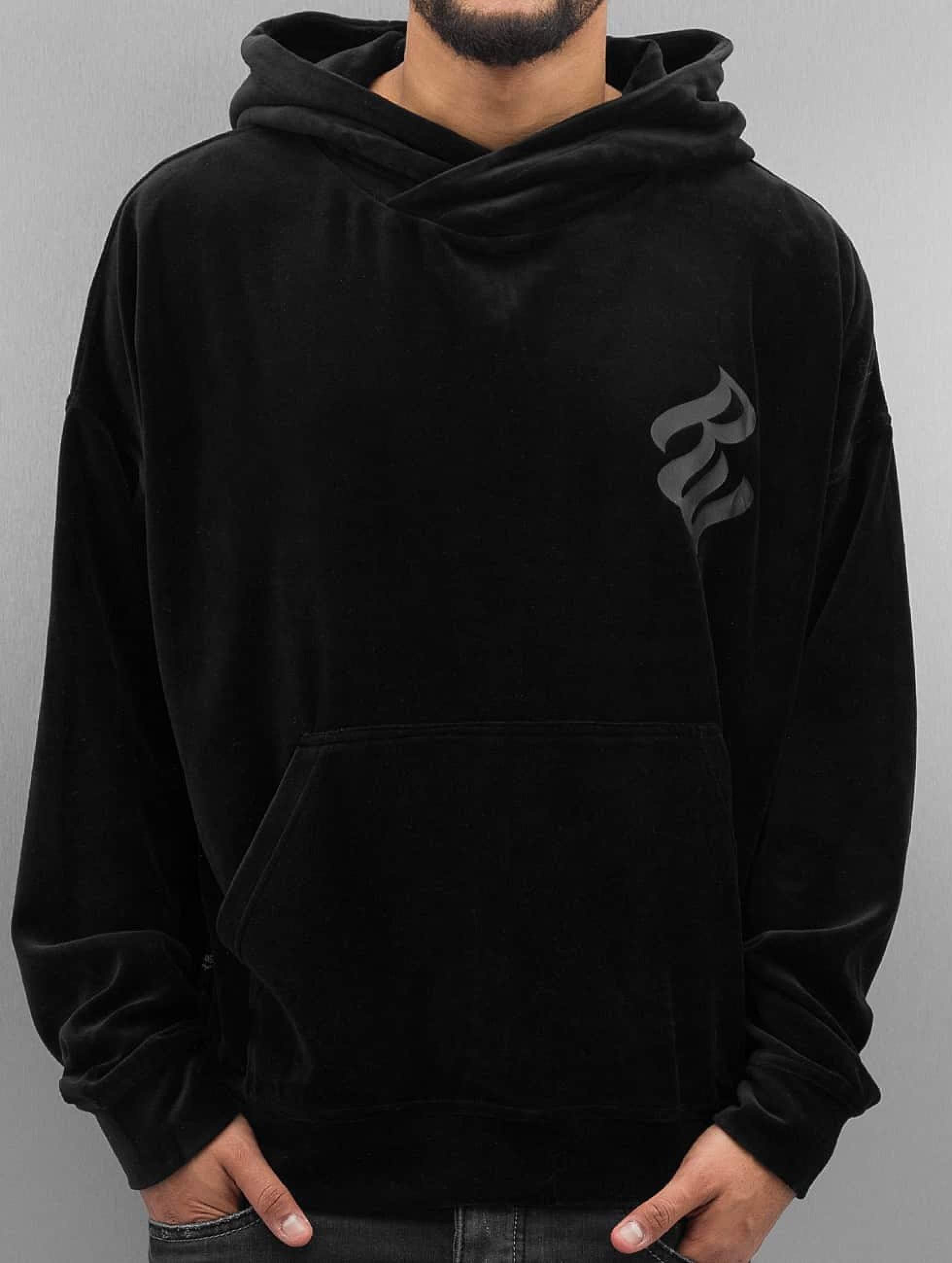 Rocawear / Hoodie Velour II Samt in black S