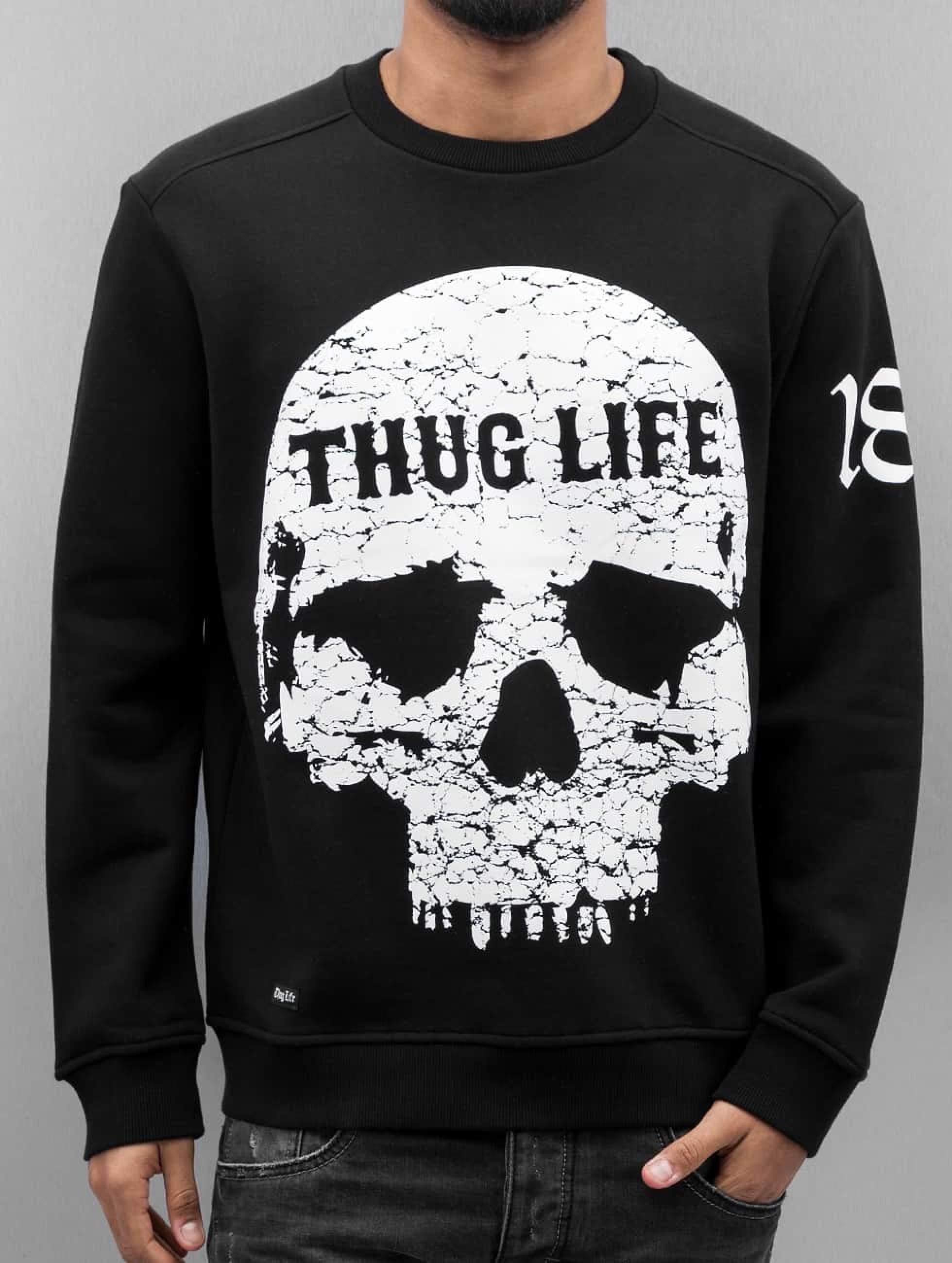 Thug Life / Jumper Getosthug in black S