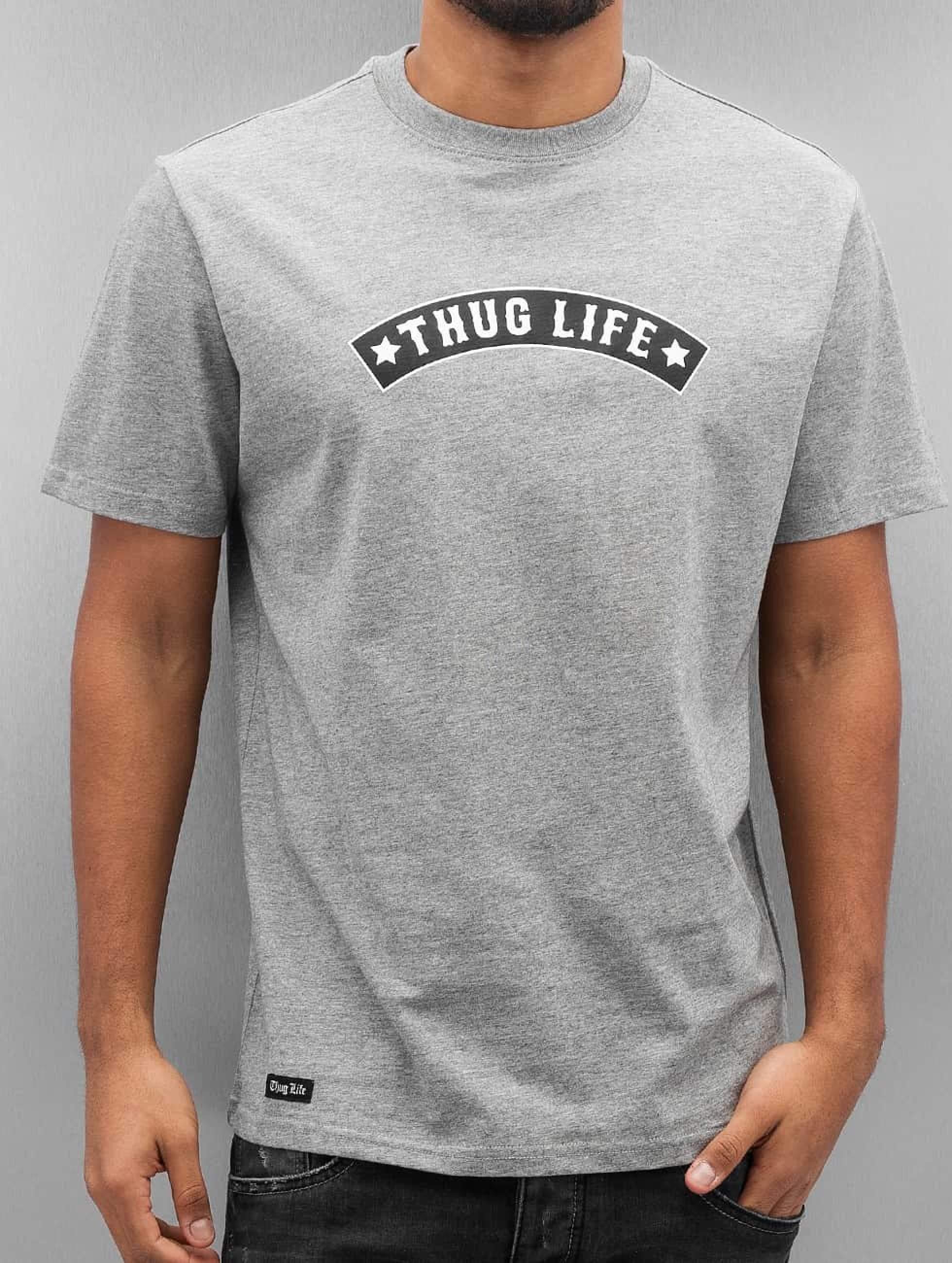 Thug Life / T-Shirt Richking in grey 3XL
