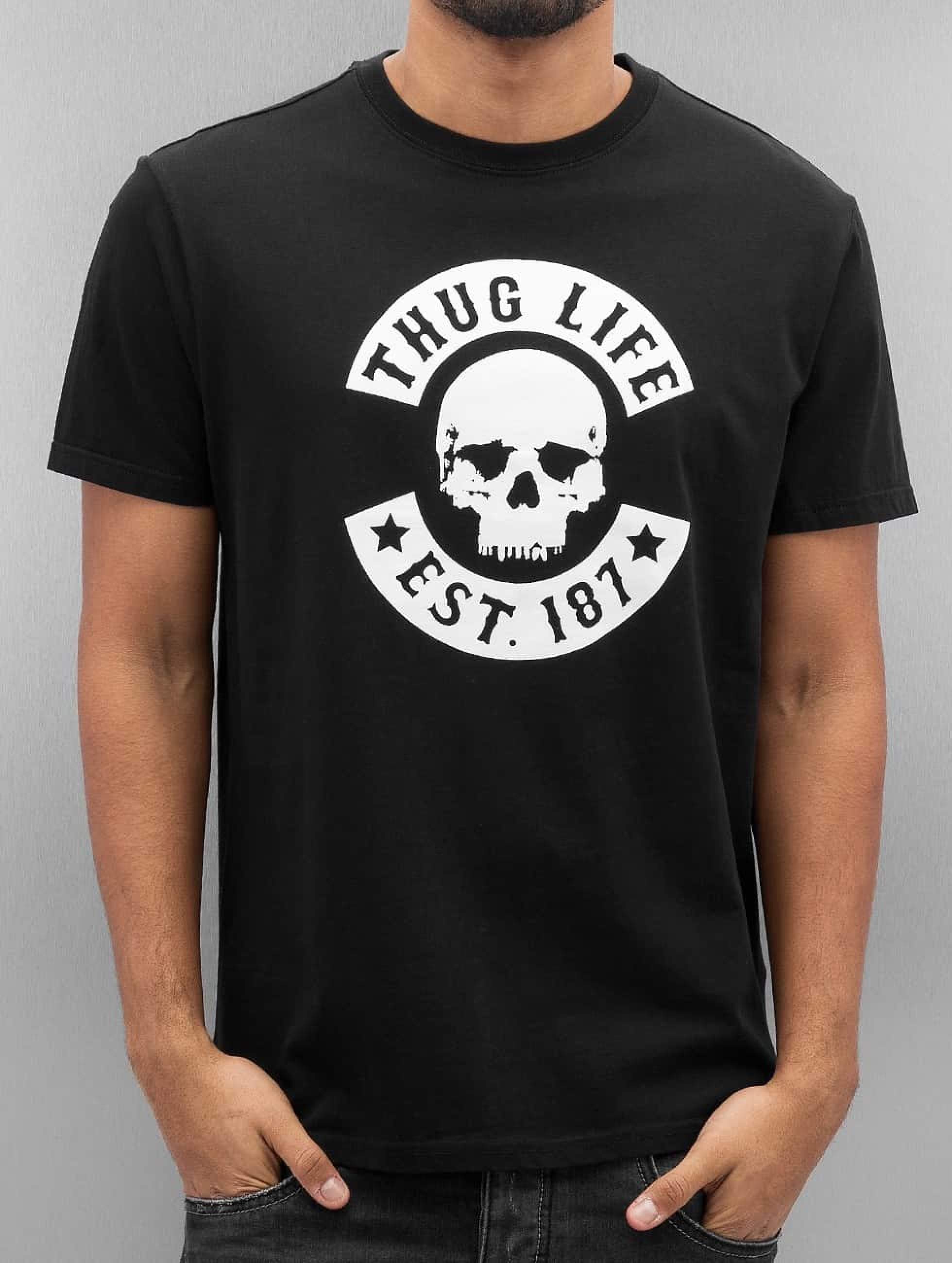 Thug Life / T-Shirt Zoro in black 3XL