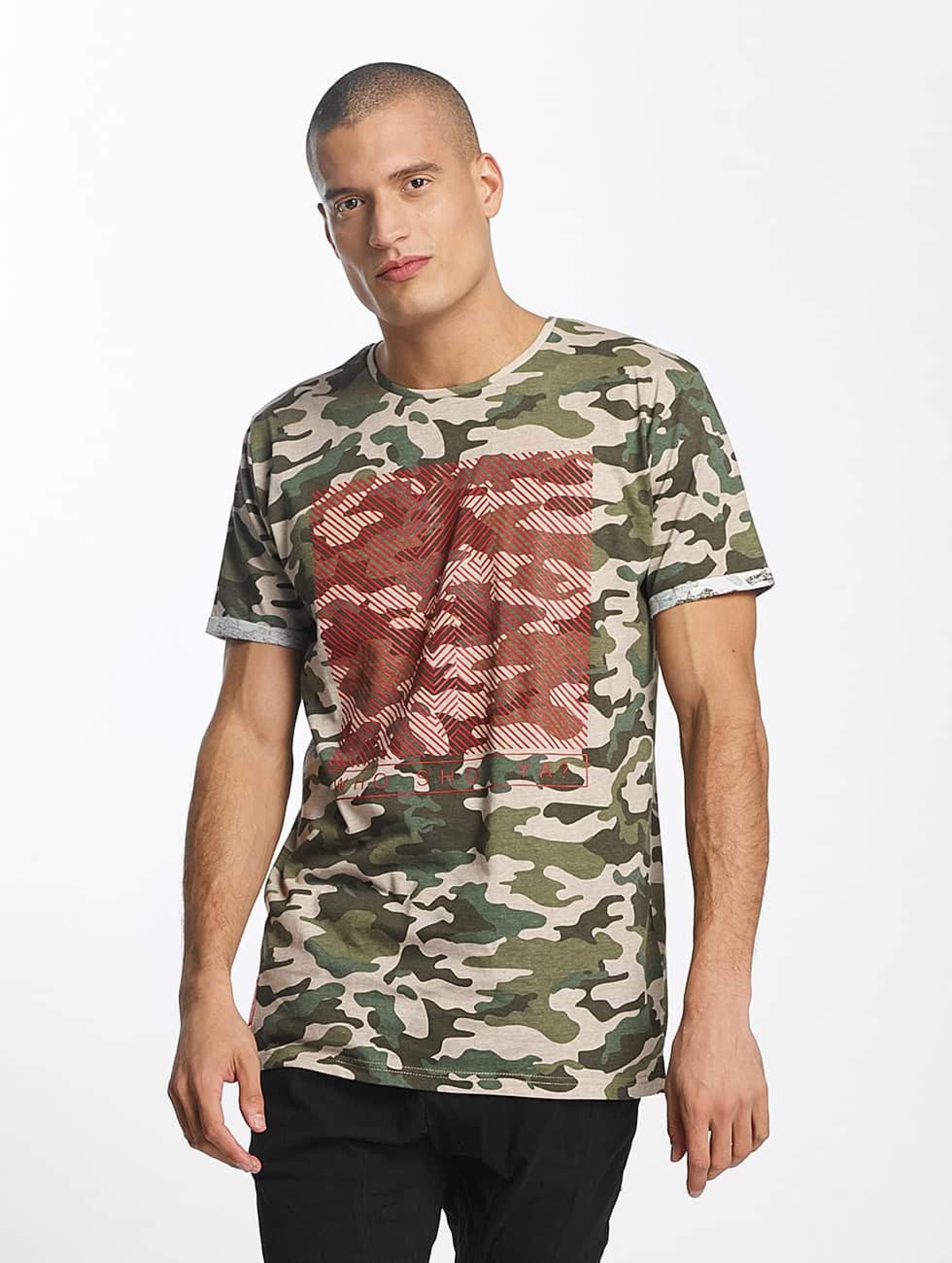 Who Shot Ya? / T-Shirt Gunshot in camouflage XL