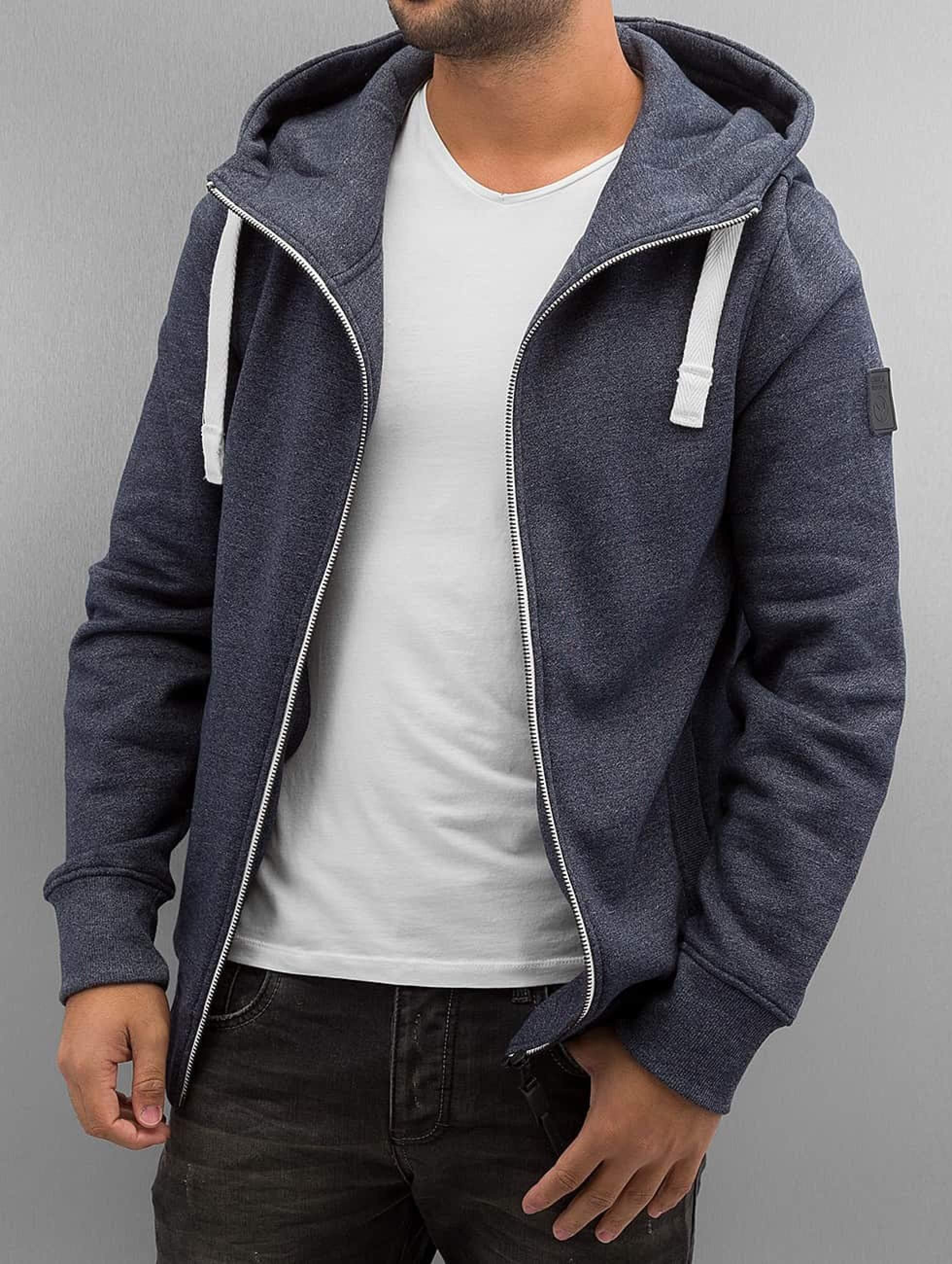 Cordon | Dimi  bleu Homme Sweat capuche zippé